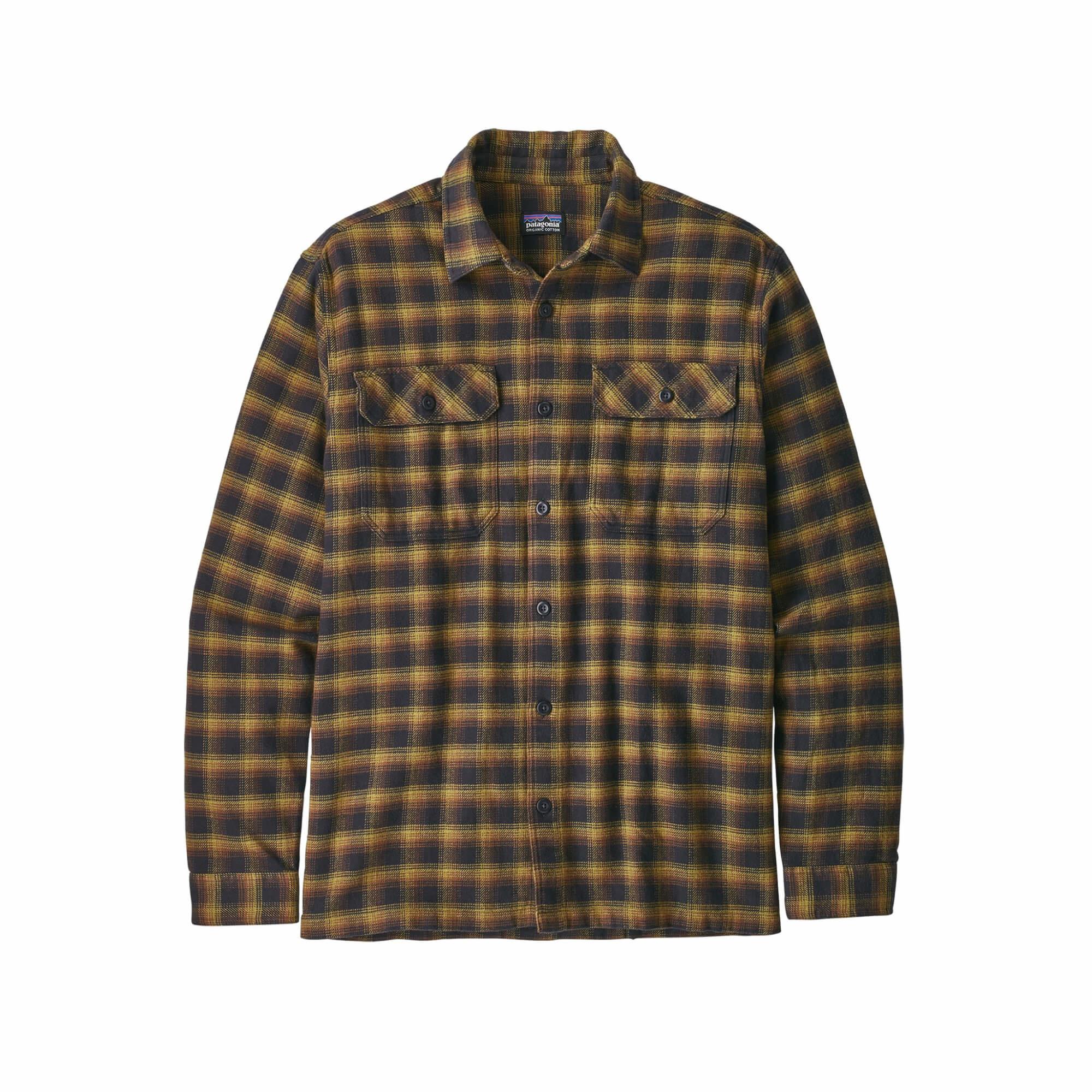 Men's Long Sleeve Fjord Flannel Shirt-4