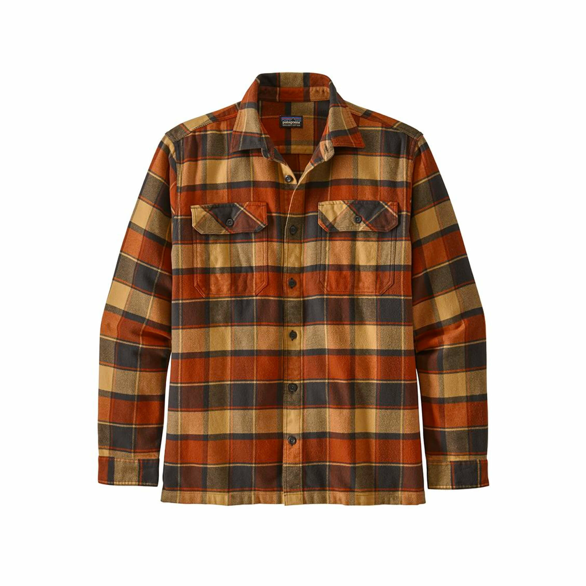 Men's Long Sleeve Fjord Flannel Shirt-5