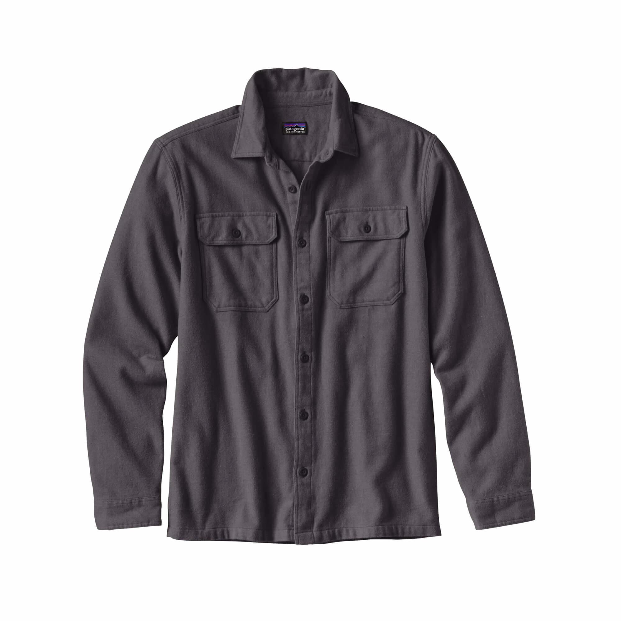 Men's Long Sleeve Fjord Flannel Shirt-6