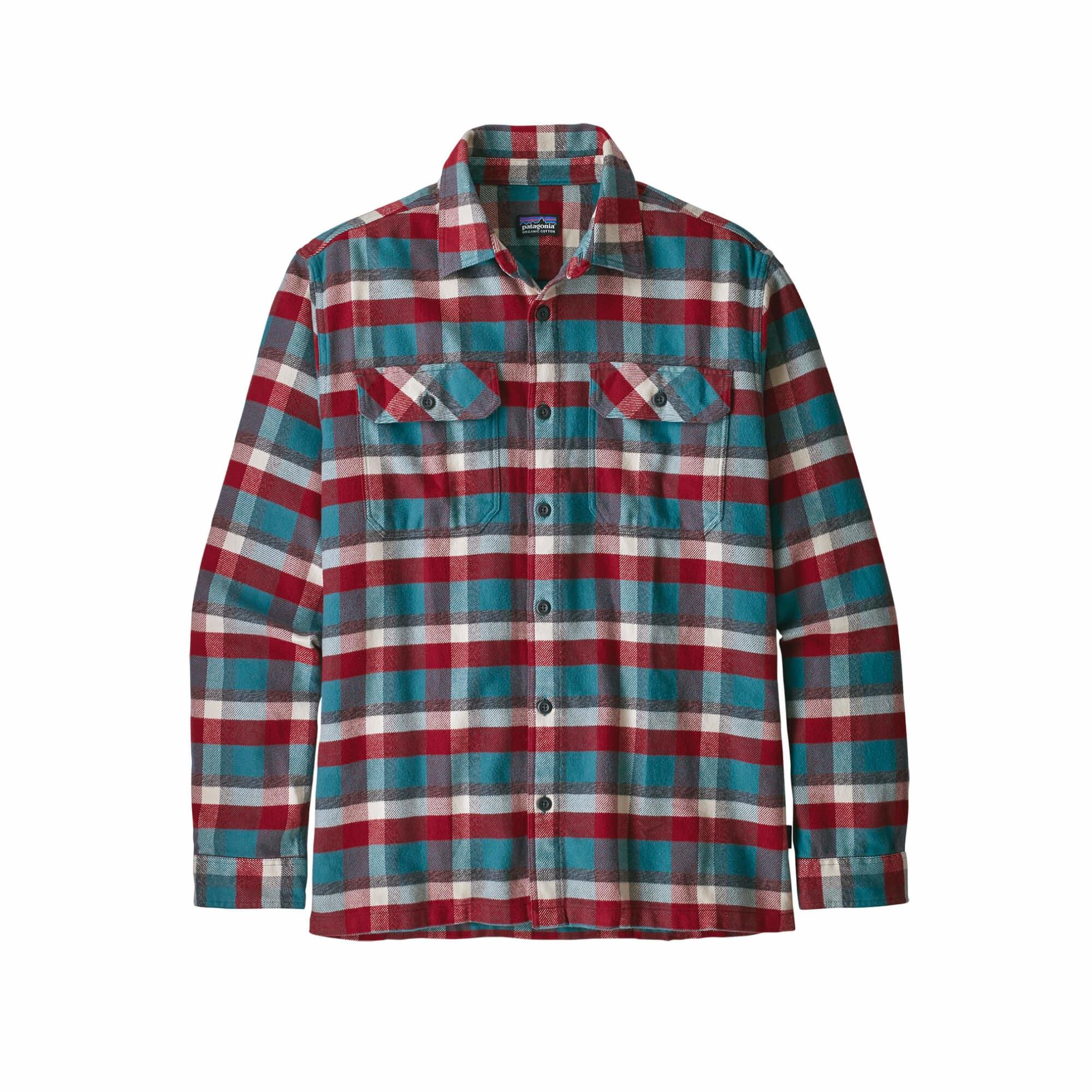 Men's Long Sleeve Fjord Flannel Shirt-7