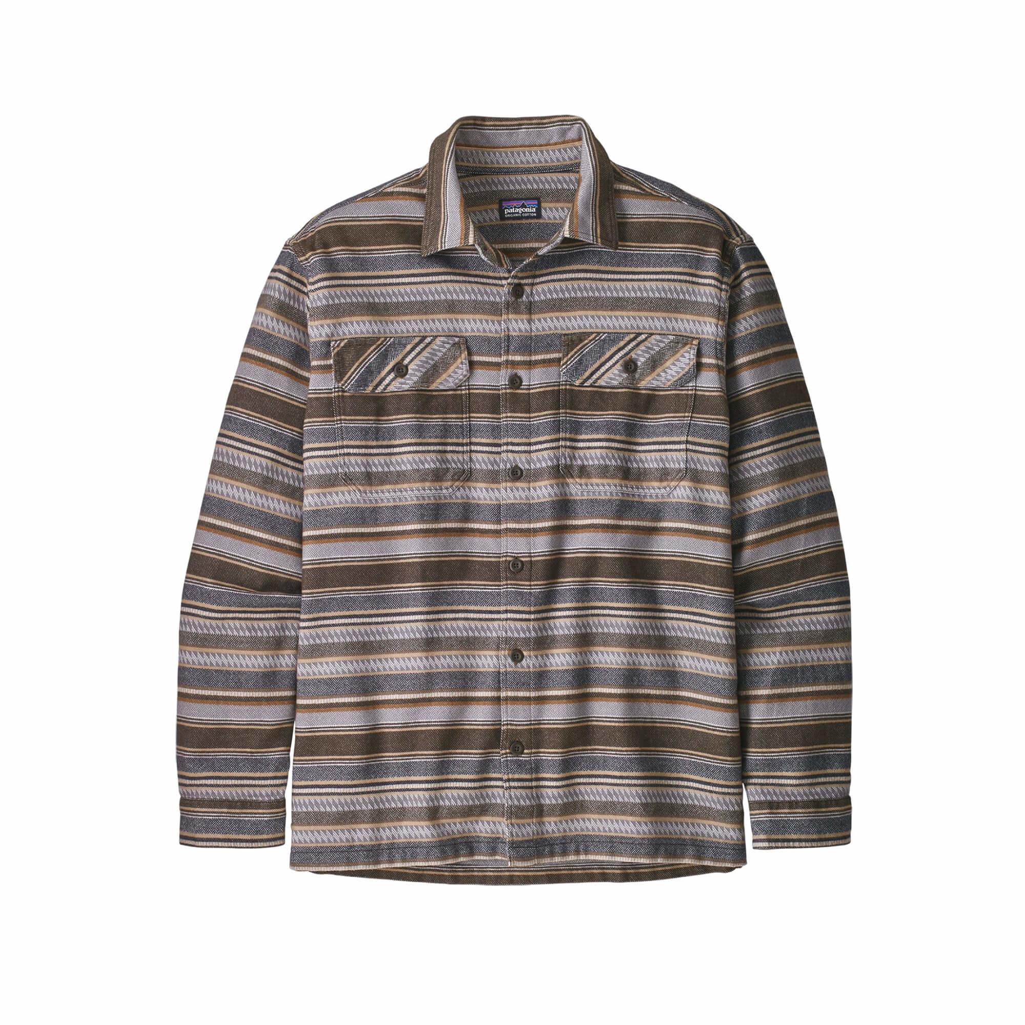 Men's Long Sleeve Fjord Flannel Shirt-8