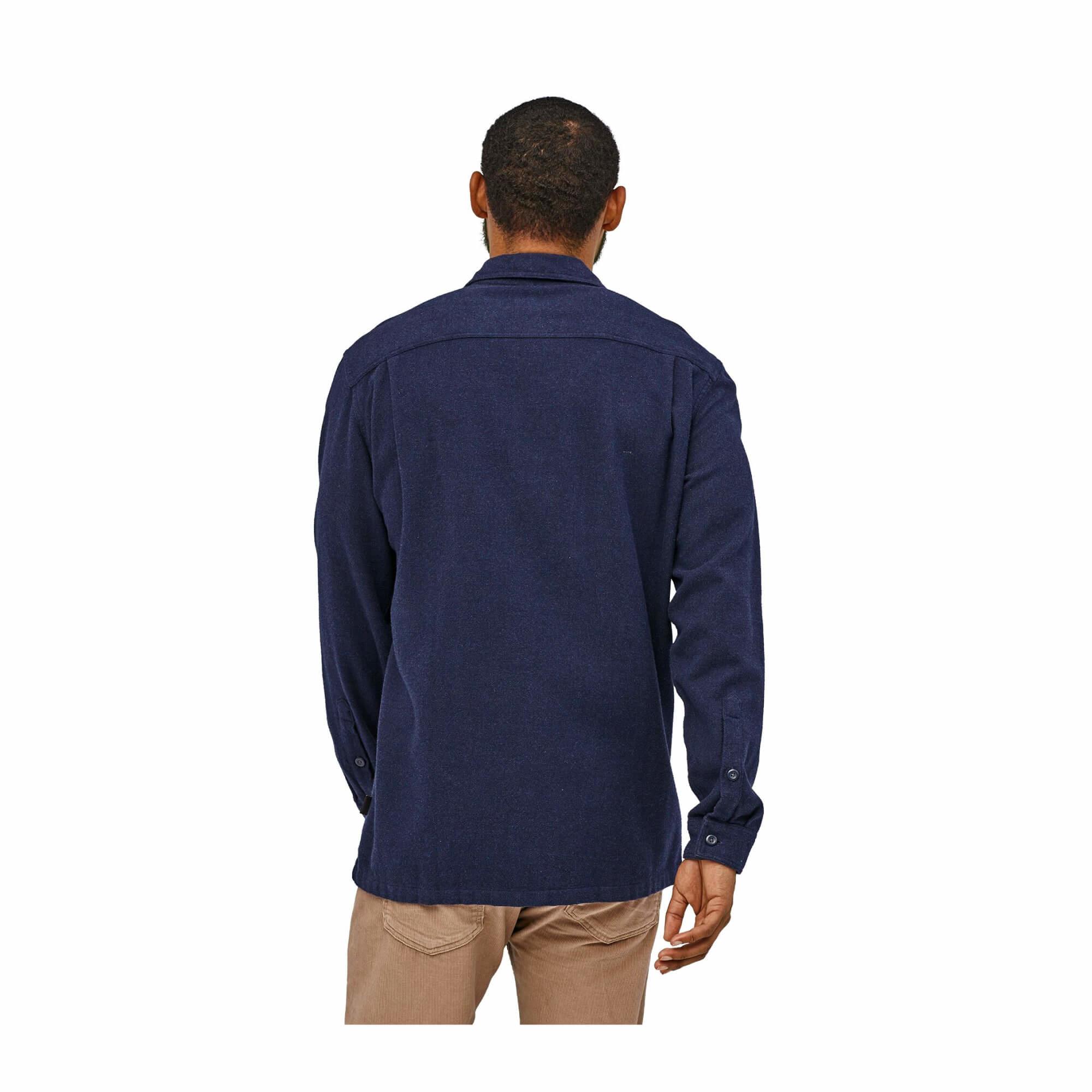Men's Long Sleeve Fjord Flannel Shirt-10