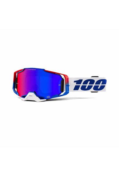Armega Goggle Genesis Hiper Blue/Red Mirror Lens