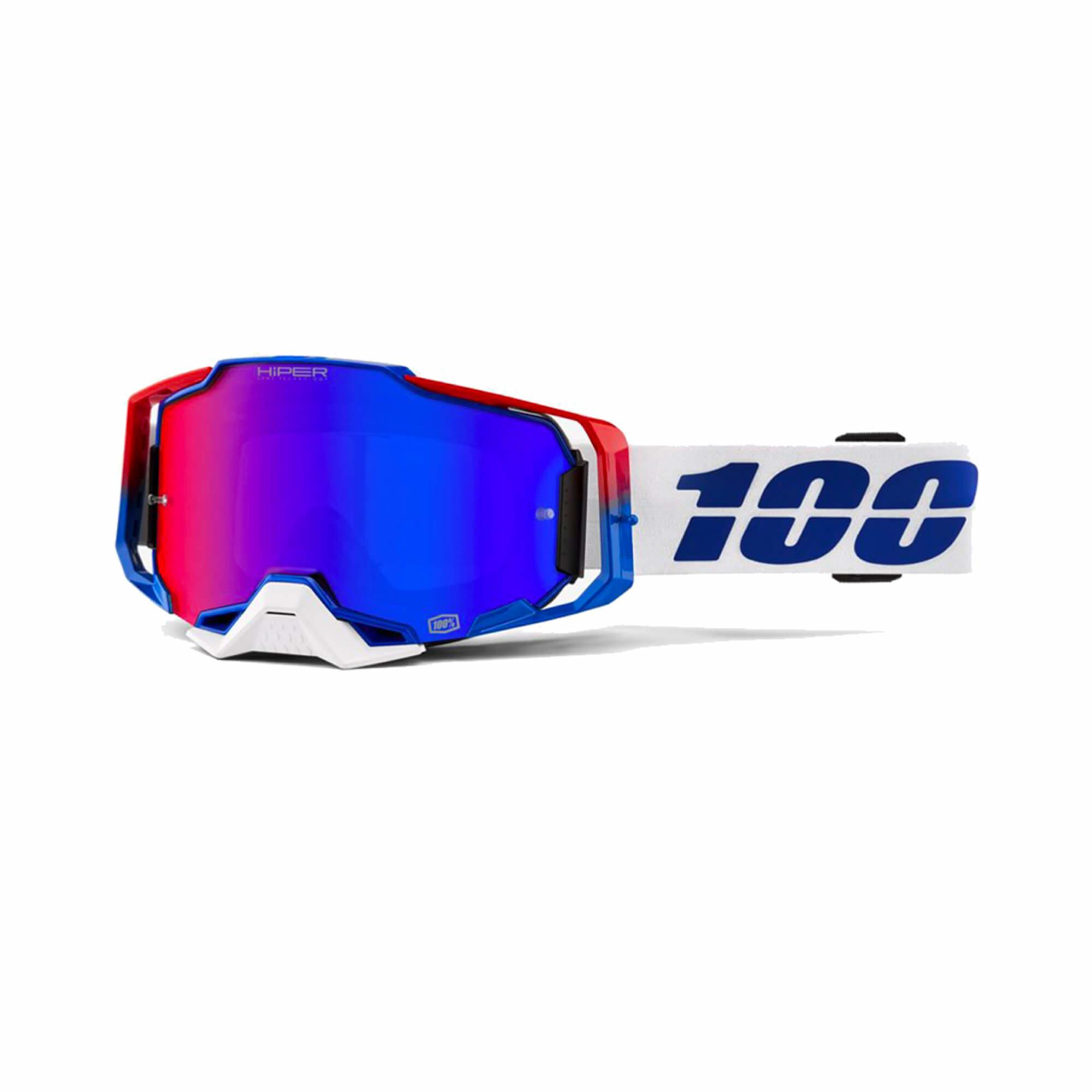 Armega Goggle Genesis Hiper Blue/Red Mirror Lens-1