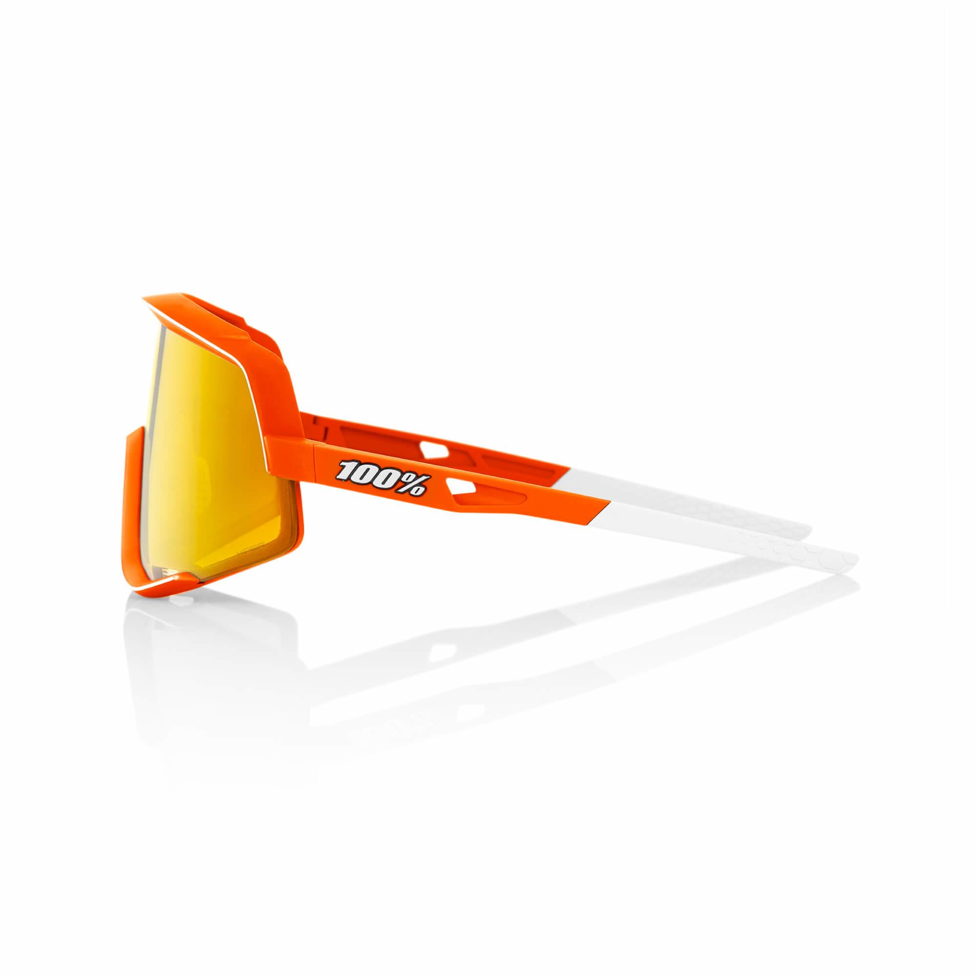 Glendale Neon Orange - Hiper Red Lens-3