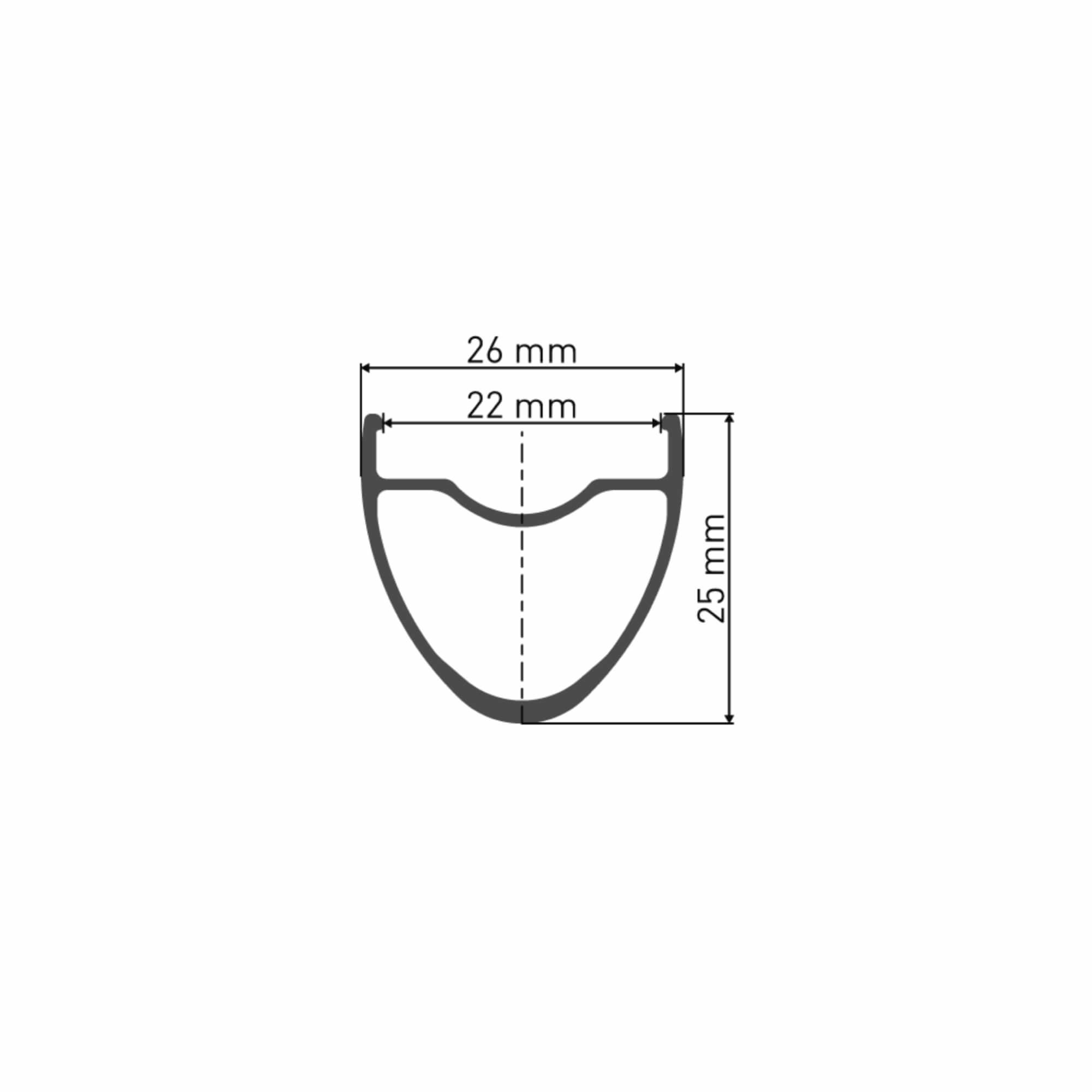 CR1400 Dicut 25 Disc Wheelset Multiaxle-3