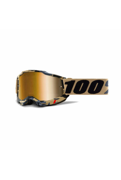 Accuri 2 Goggle Tarmac - True Gold Lens