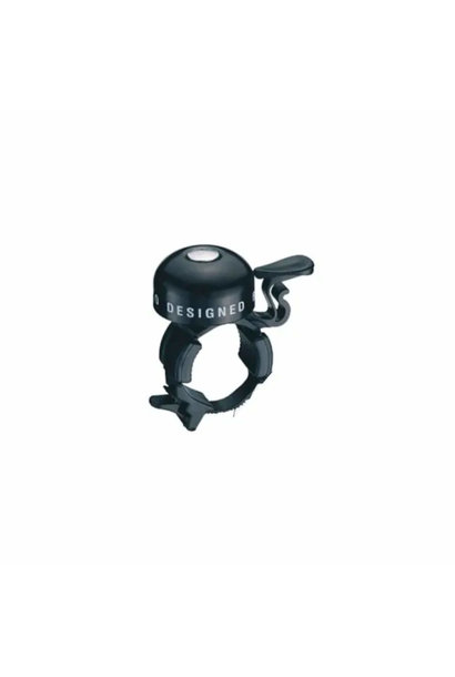 Alloy Black Bell With Plastic Strap Mount