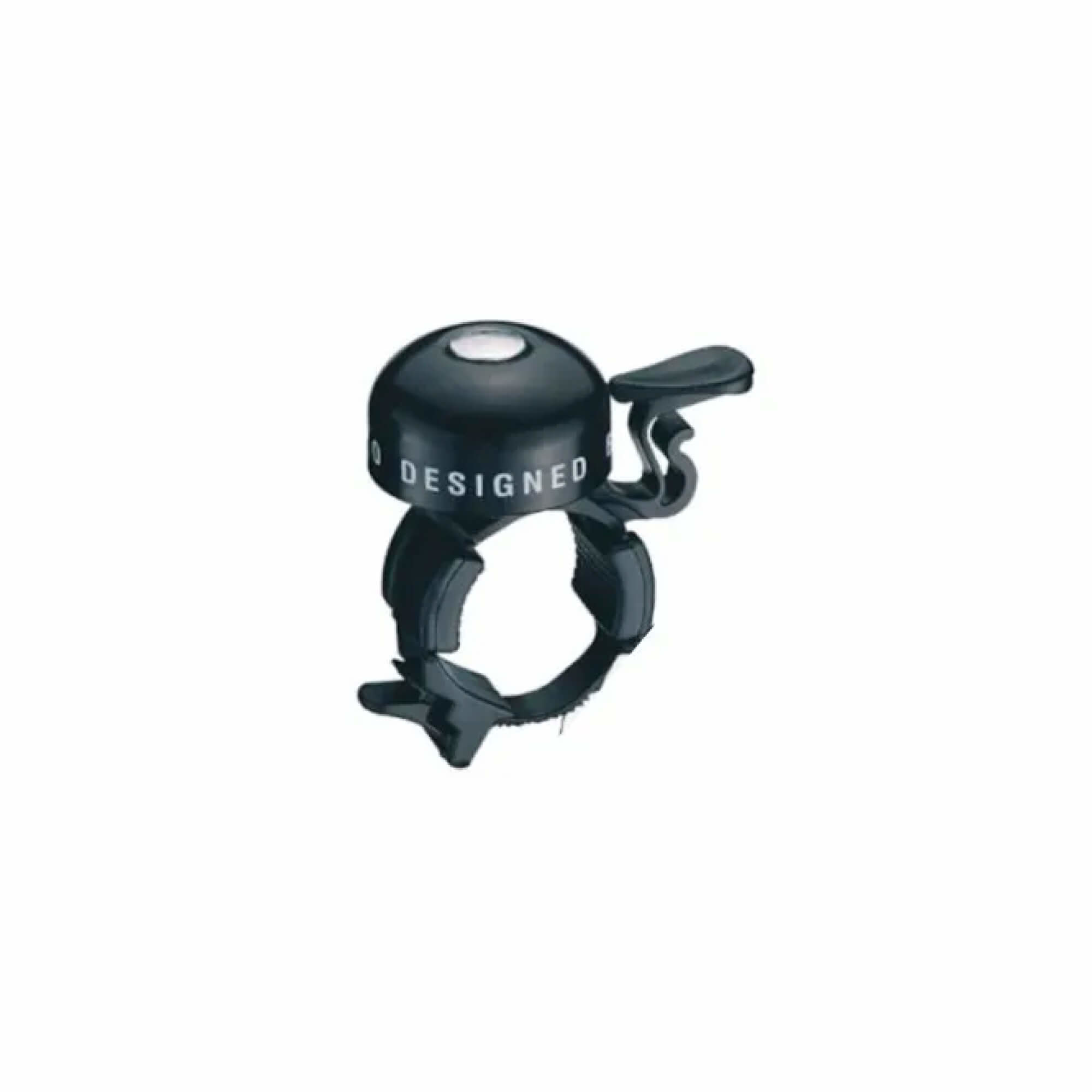 Alloy Black Bell With Plastic Strap Mount-1