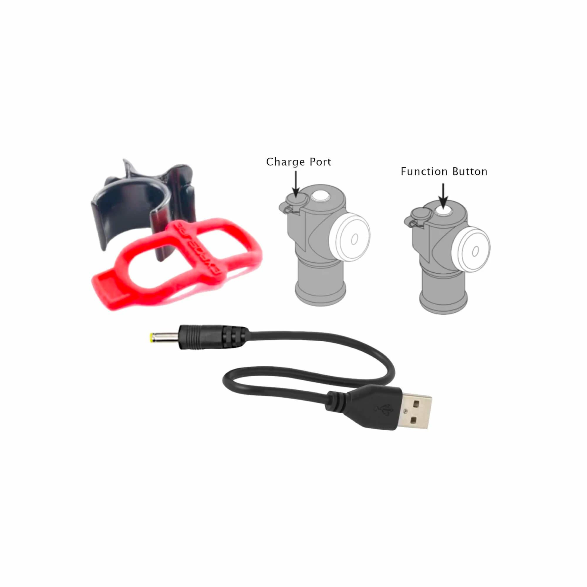 Blaze MK3 150-80 Lumen With Daybright, Reakt & Peleton Mode-2