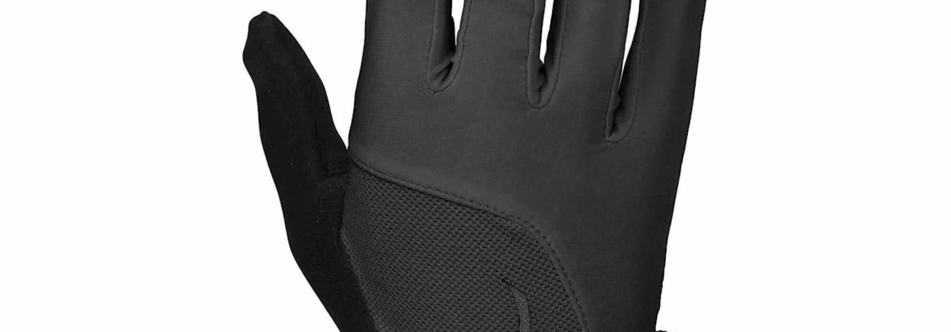 Body Geometry Dual Gel Women's Glove Long Fingers Black