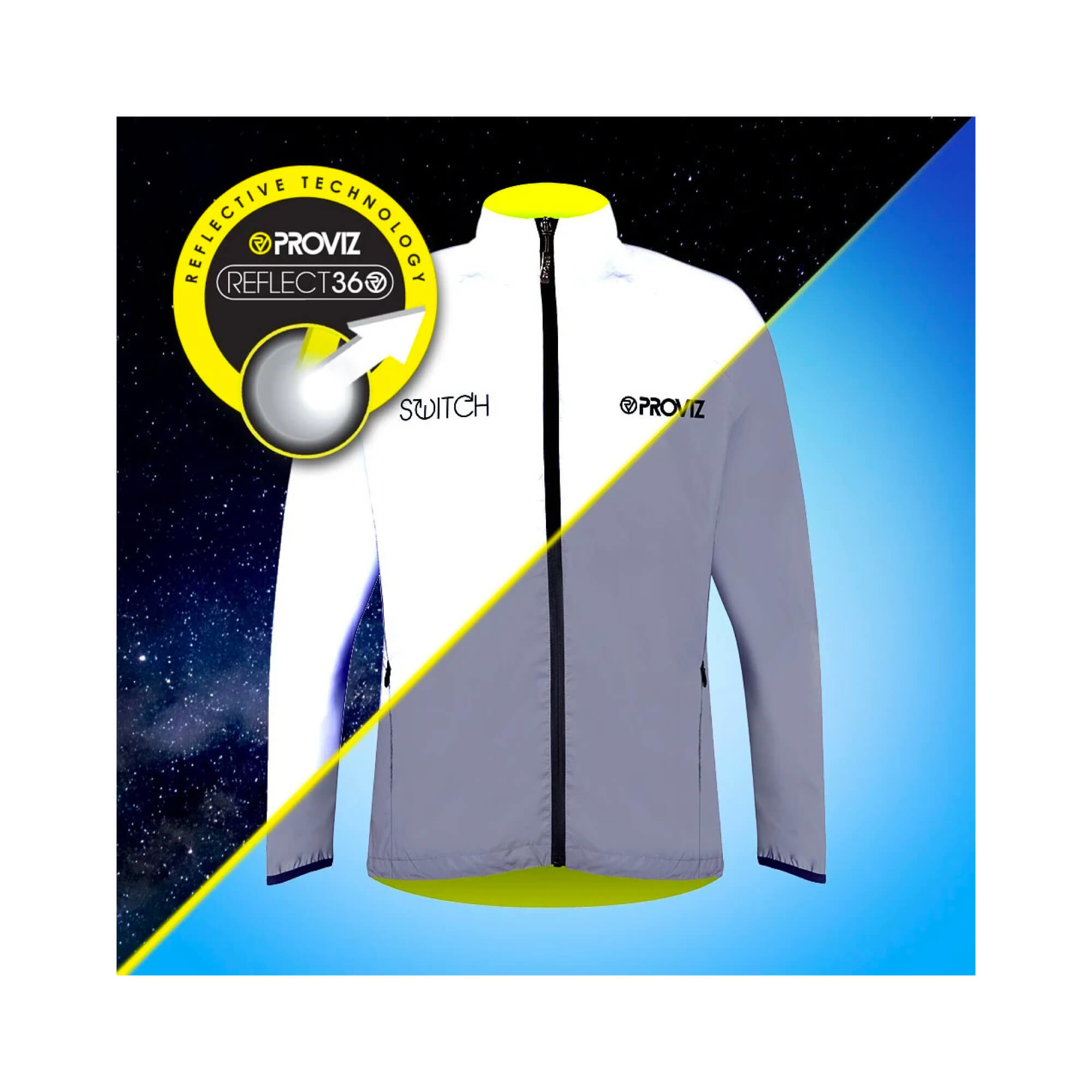 Storm Proof Jacket Switch Reversable Reflect 360 Mens-8