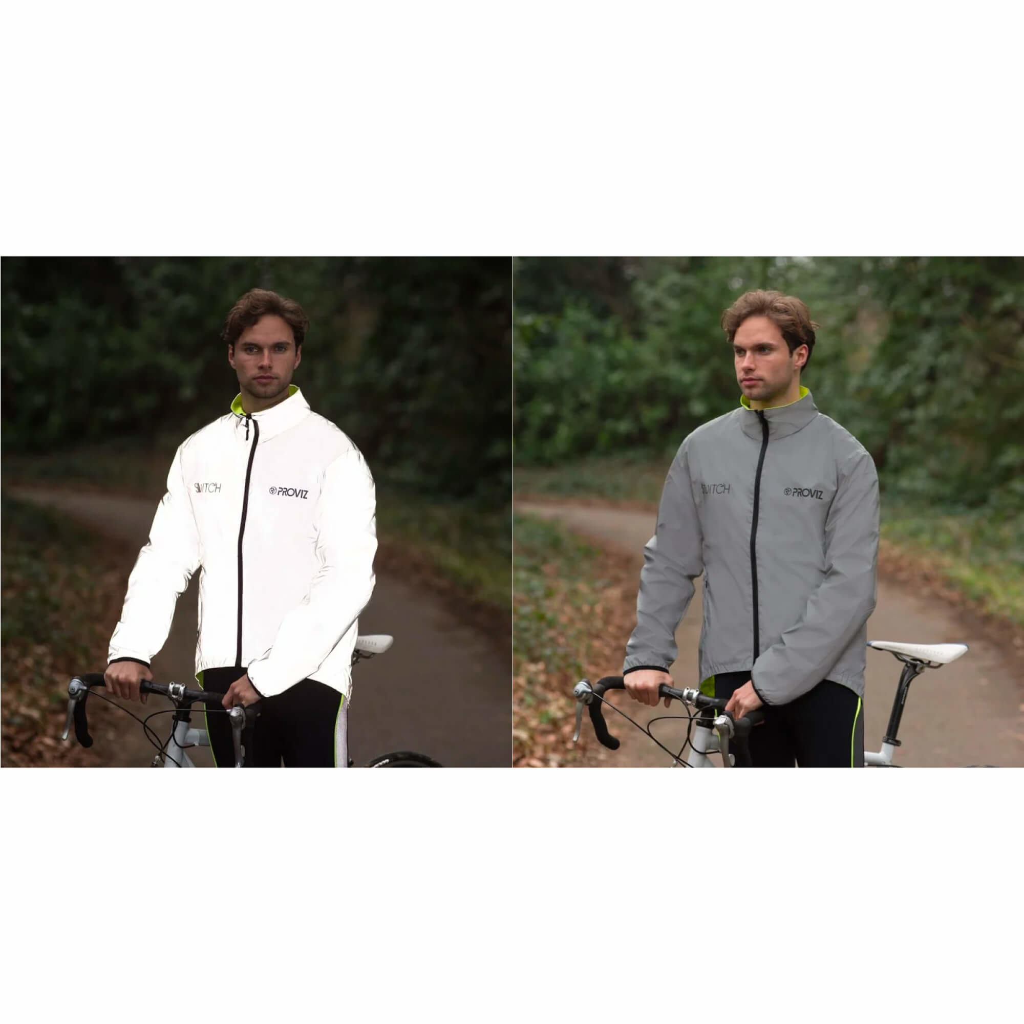 Storm Proof Jacket Switch Reversable Reflect 360 Mens-9