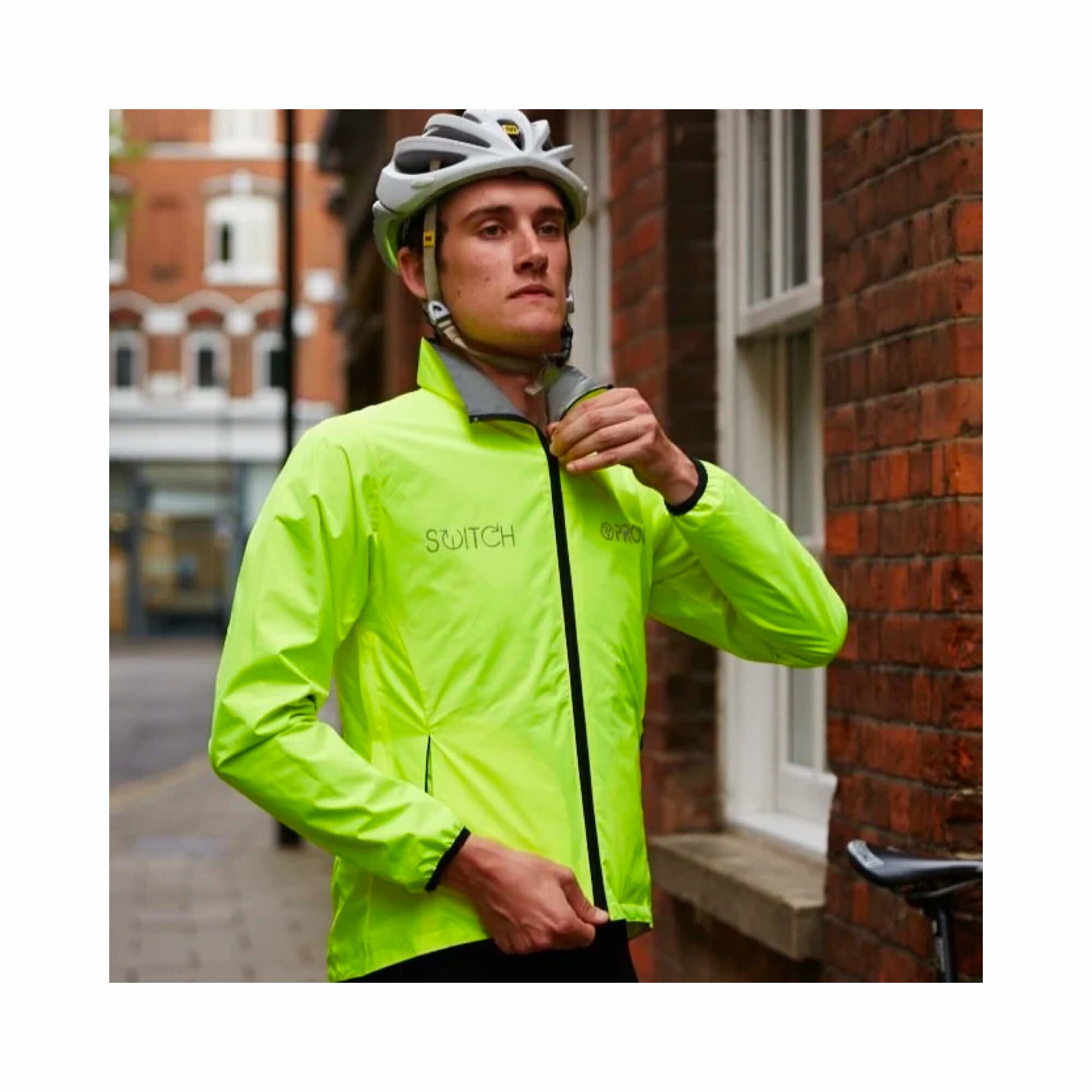 Storm Proof Jacket Switch Reversable Reflect 360 Mens-10