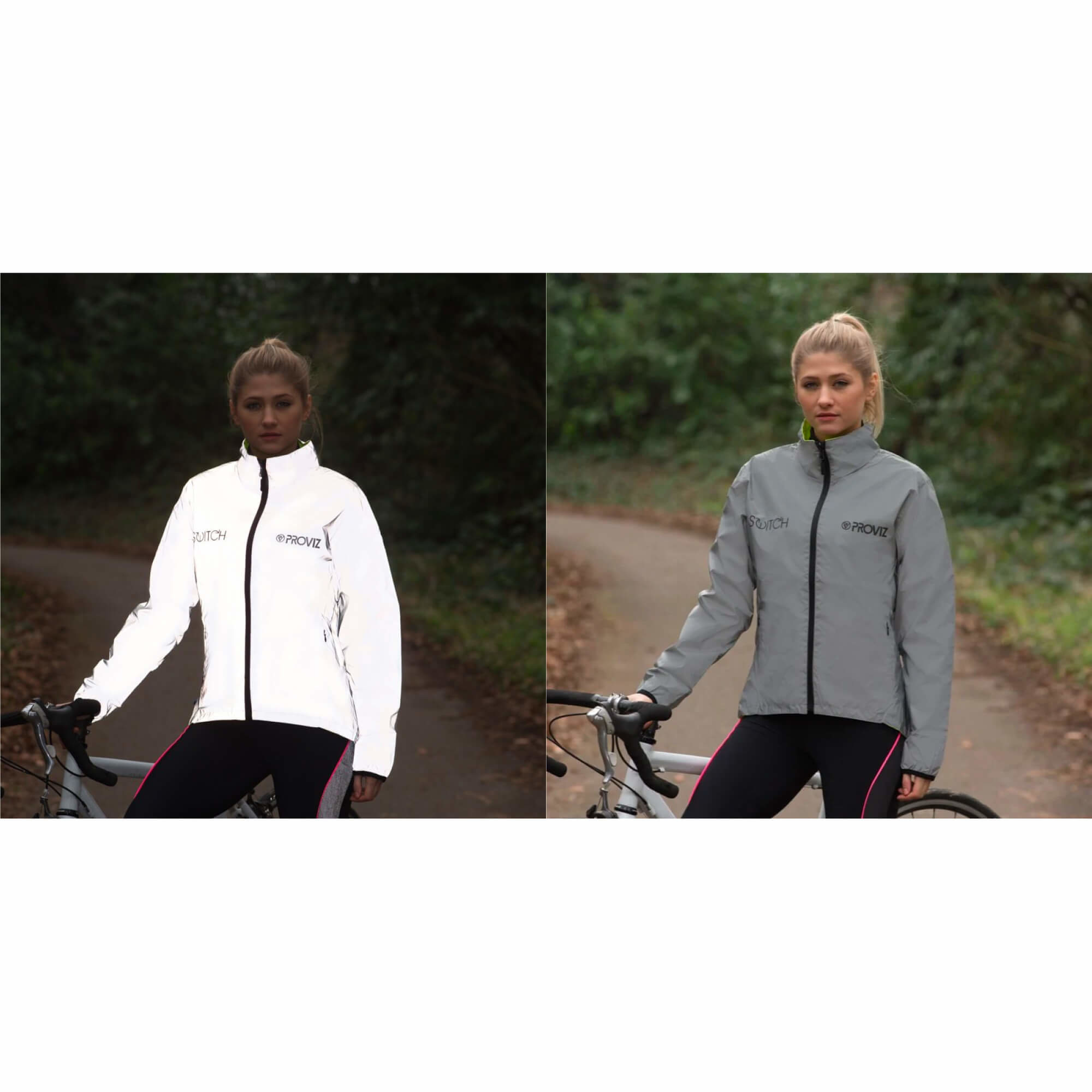 Storm Proof Jacket Switch Reversable Reflect 360 Womens-9