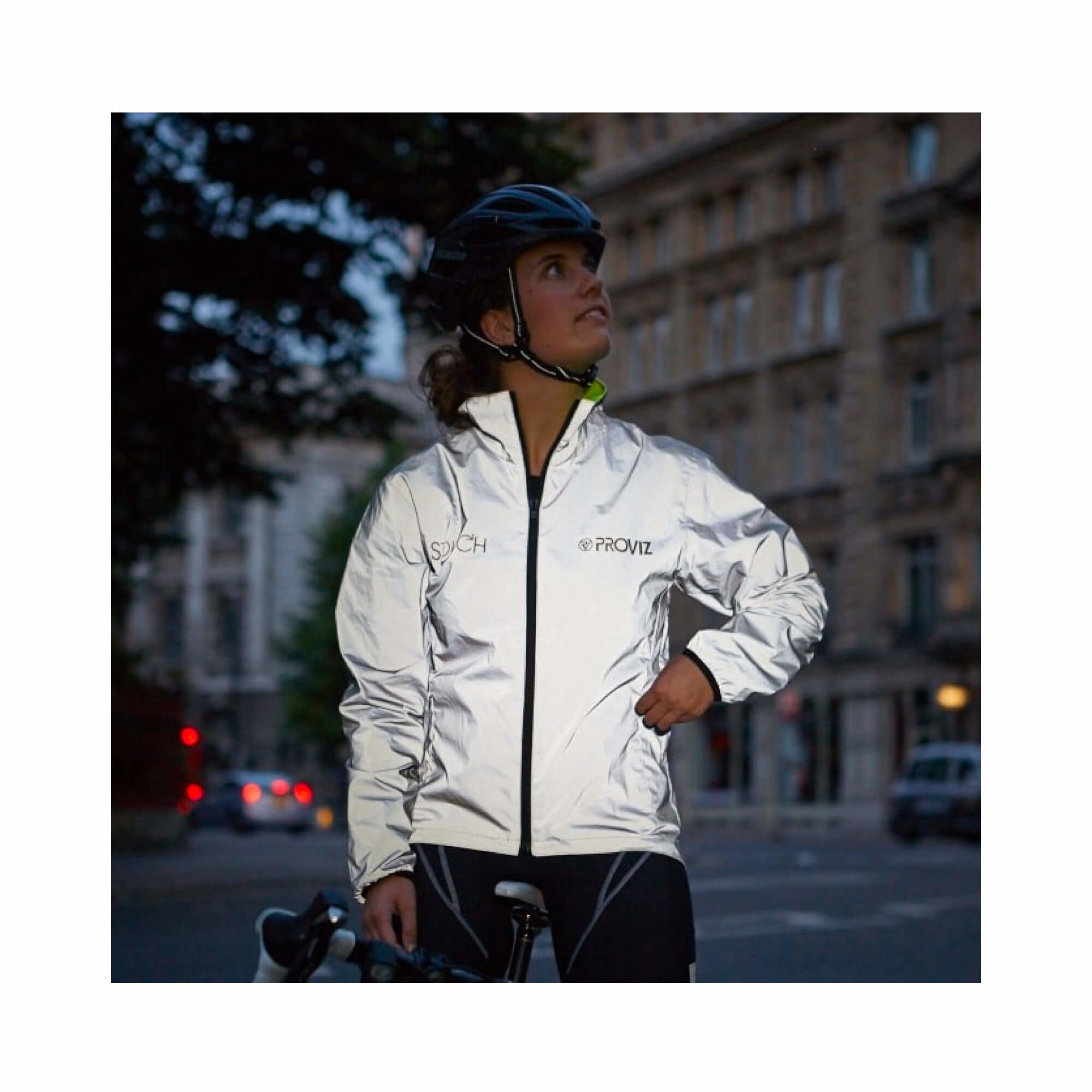 Storm Proof Jacket Switch Reversable Reflect 360 Womens-10