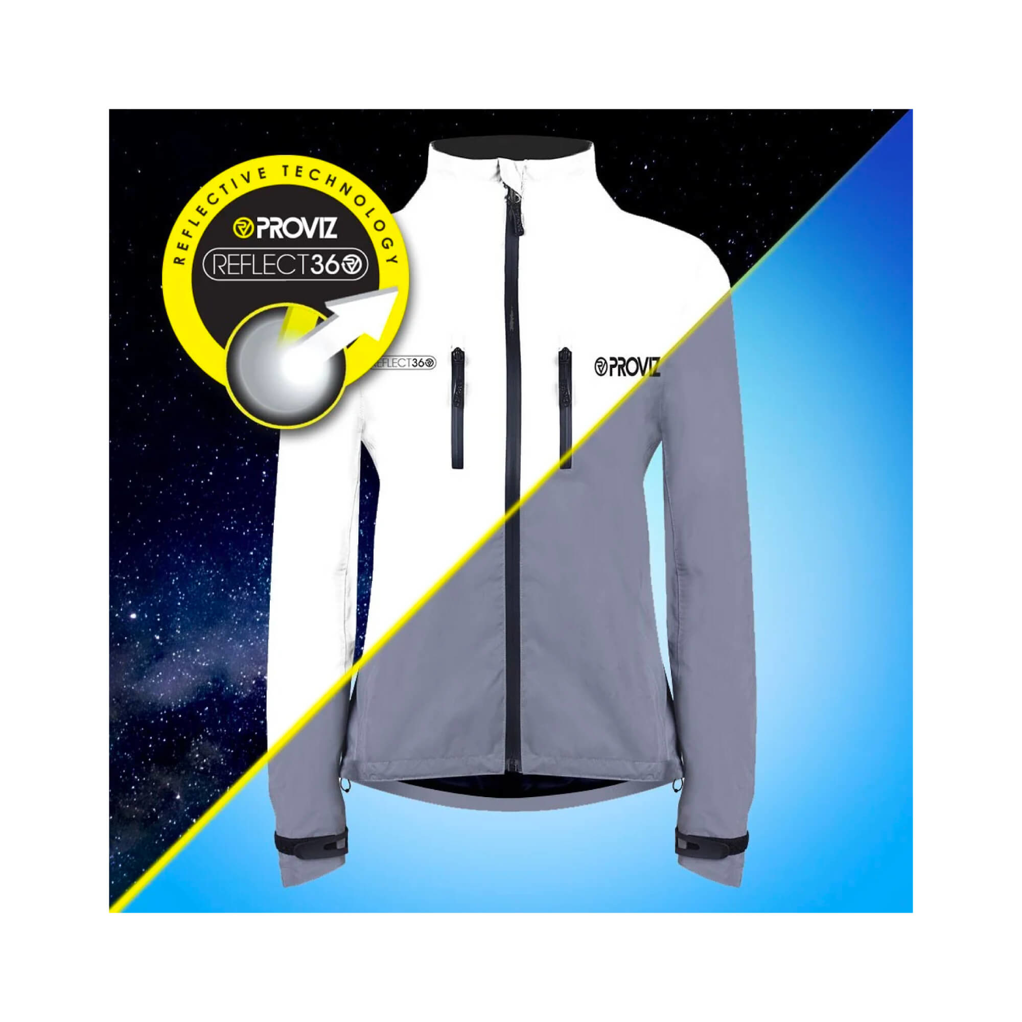 Jacket Cycling 360 Reflect Storm Proof Womens-6