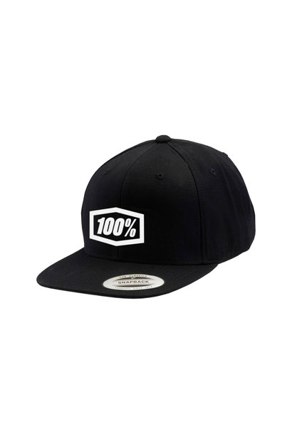 Essential Snapback Hat Black Youth