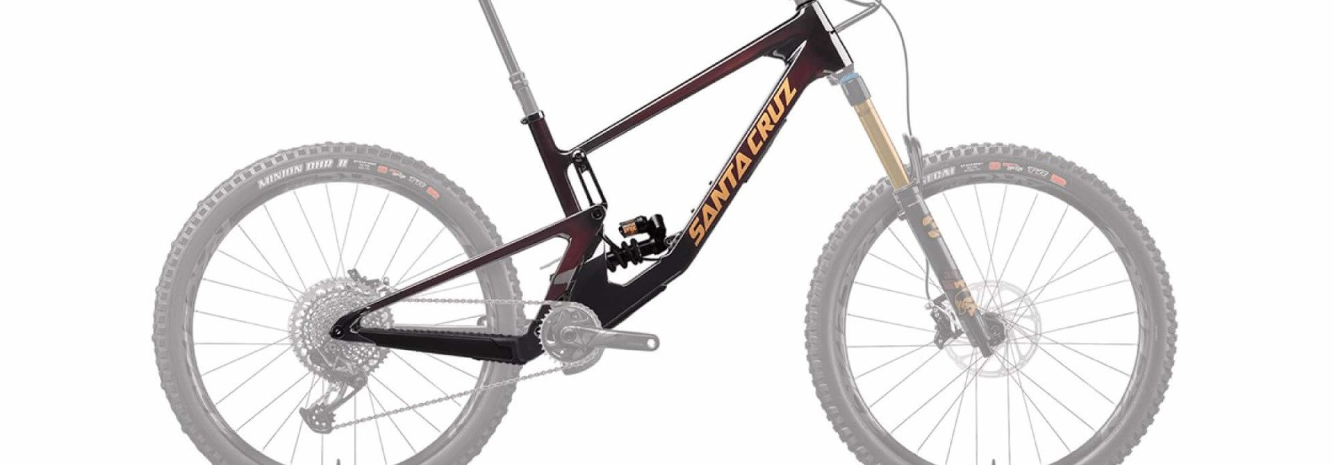 Nomad 5.0 CC 27.5 Frame Fox DHX2 Factory Coil Oxblood 2021