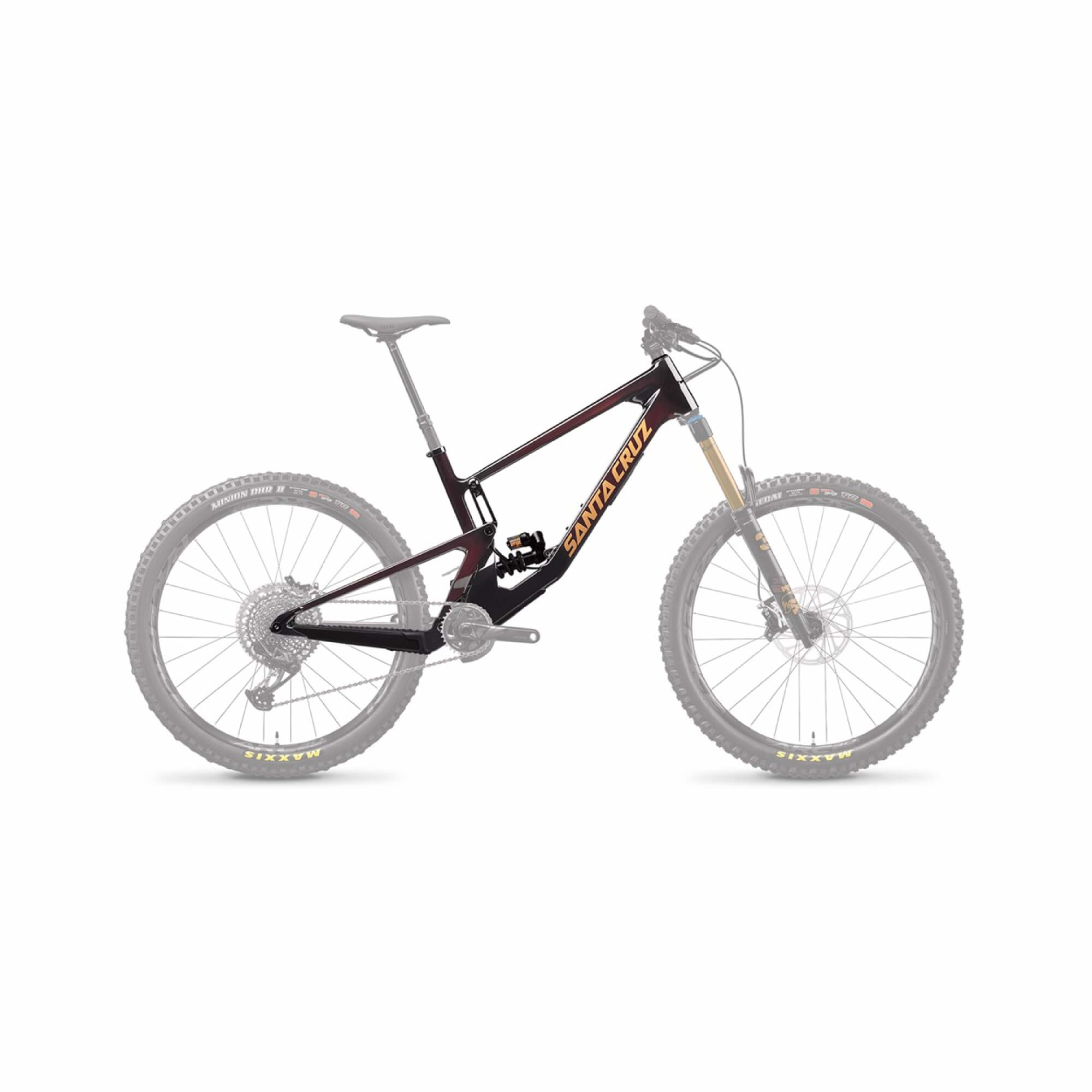 Nomad 5.0 CC 27.5 Frame Fox DHX2 Factory Coil Oxblood 2021-1