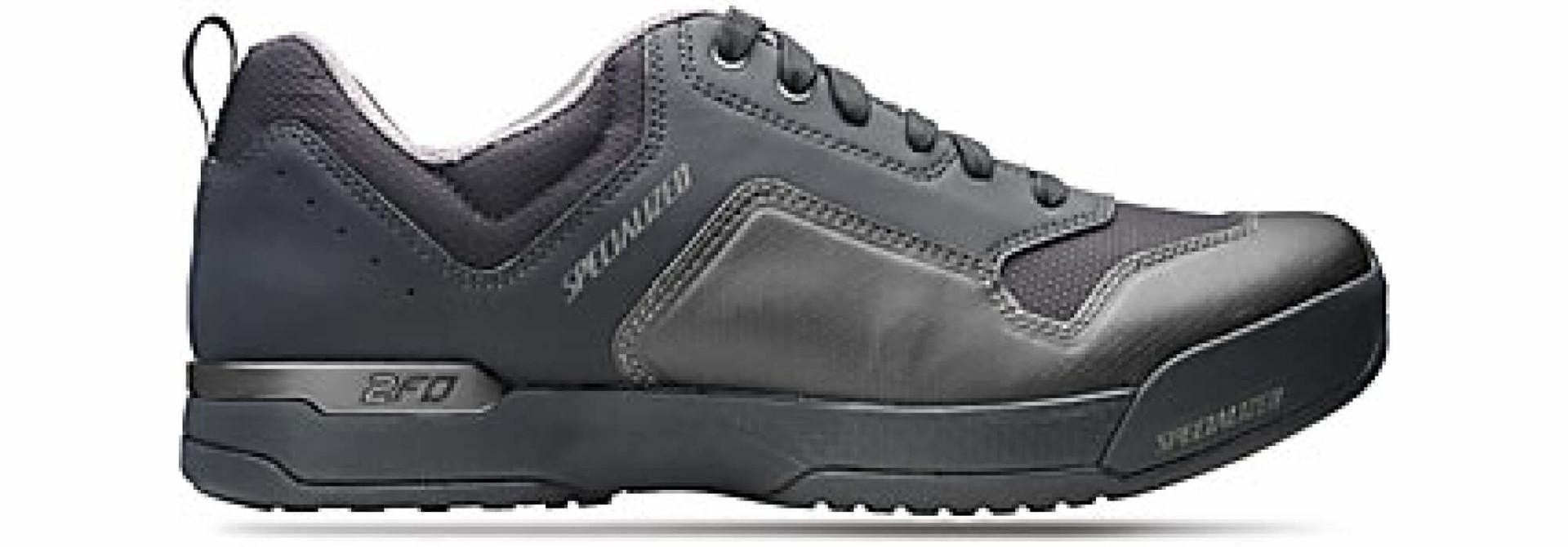 2FO Cliplite Lace MTB Shoe Blk 38 Size: 38