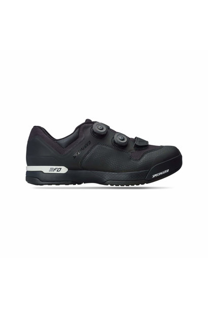 2FO Cliplite MTB Shoe Blk/Wht 41/8 Size: 41