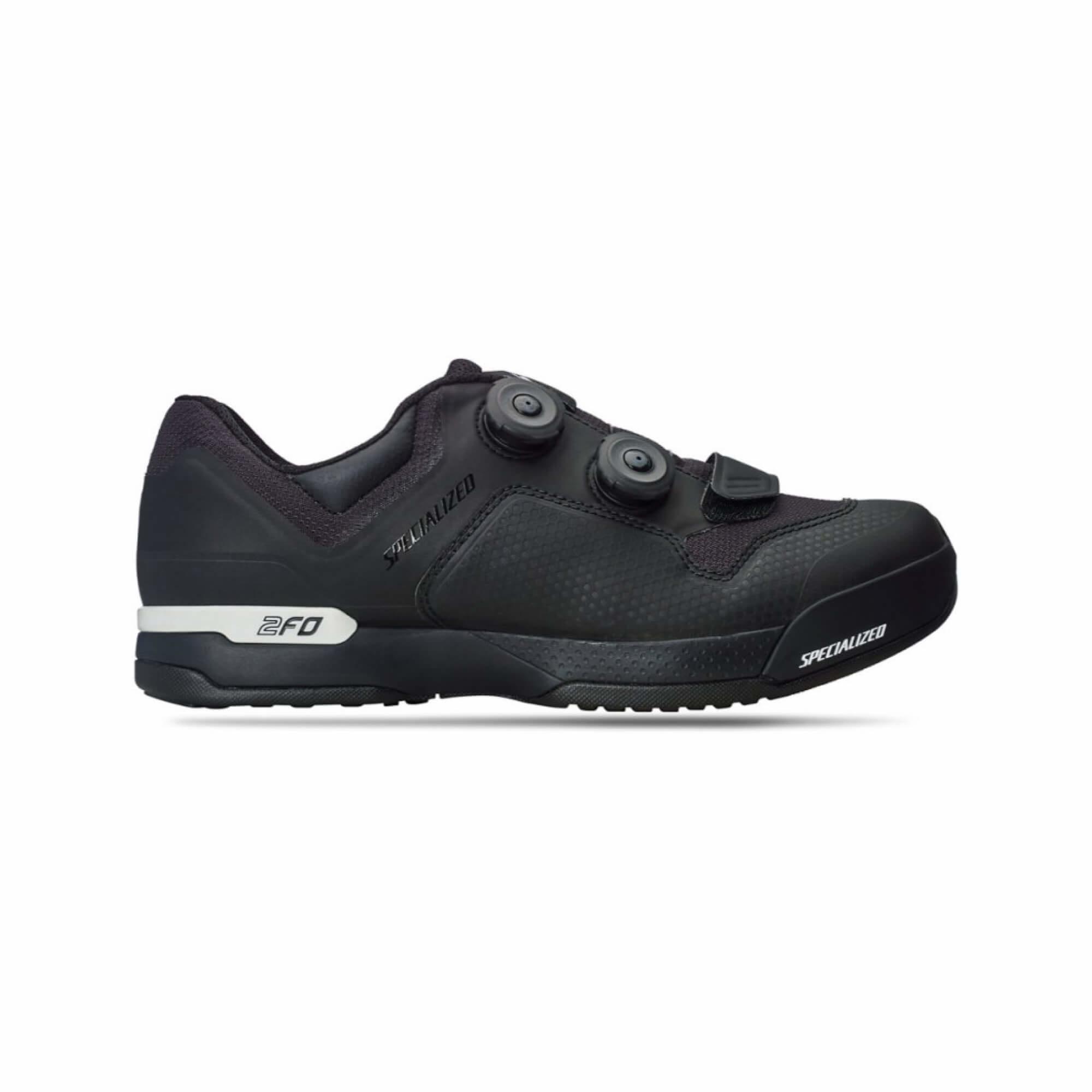 2FO Cliplite MTB Shoe Blk/Wht 41/8 Size: 41-1