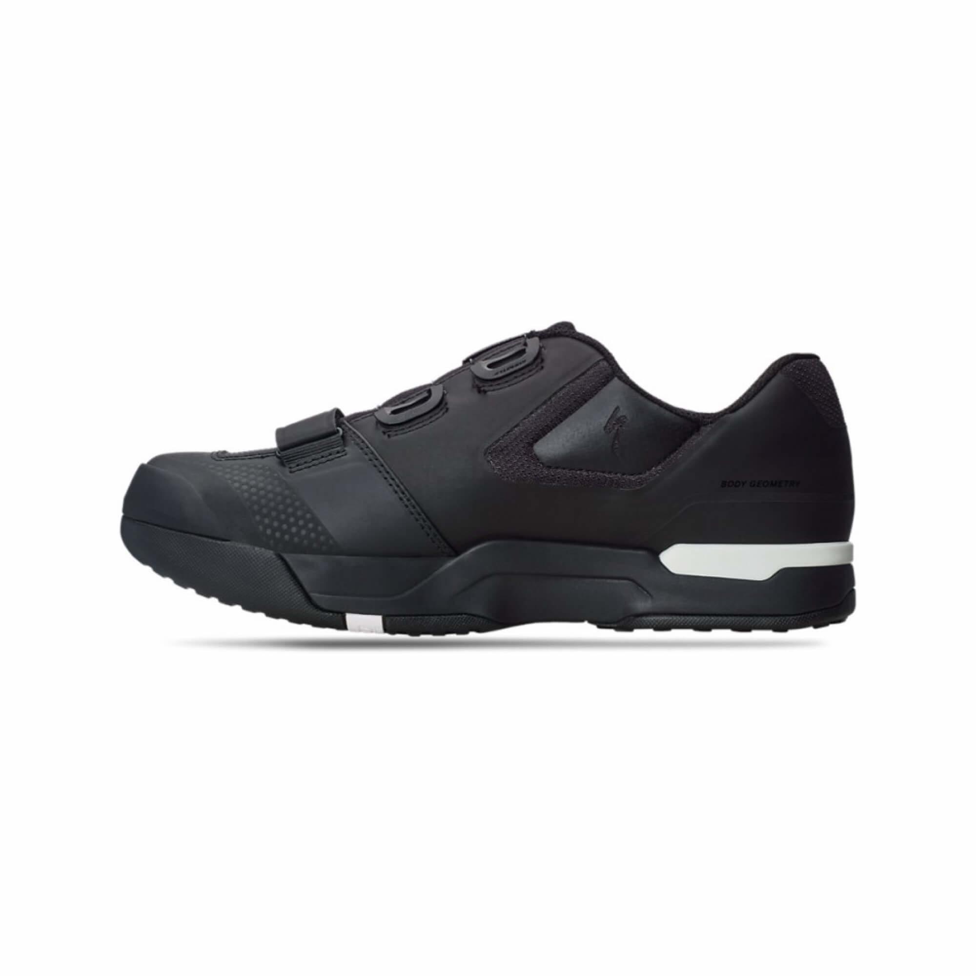 2FO Cliplite MTB Shoe Blk/Wht 41/8 Size: 41-2