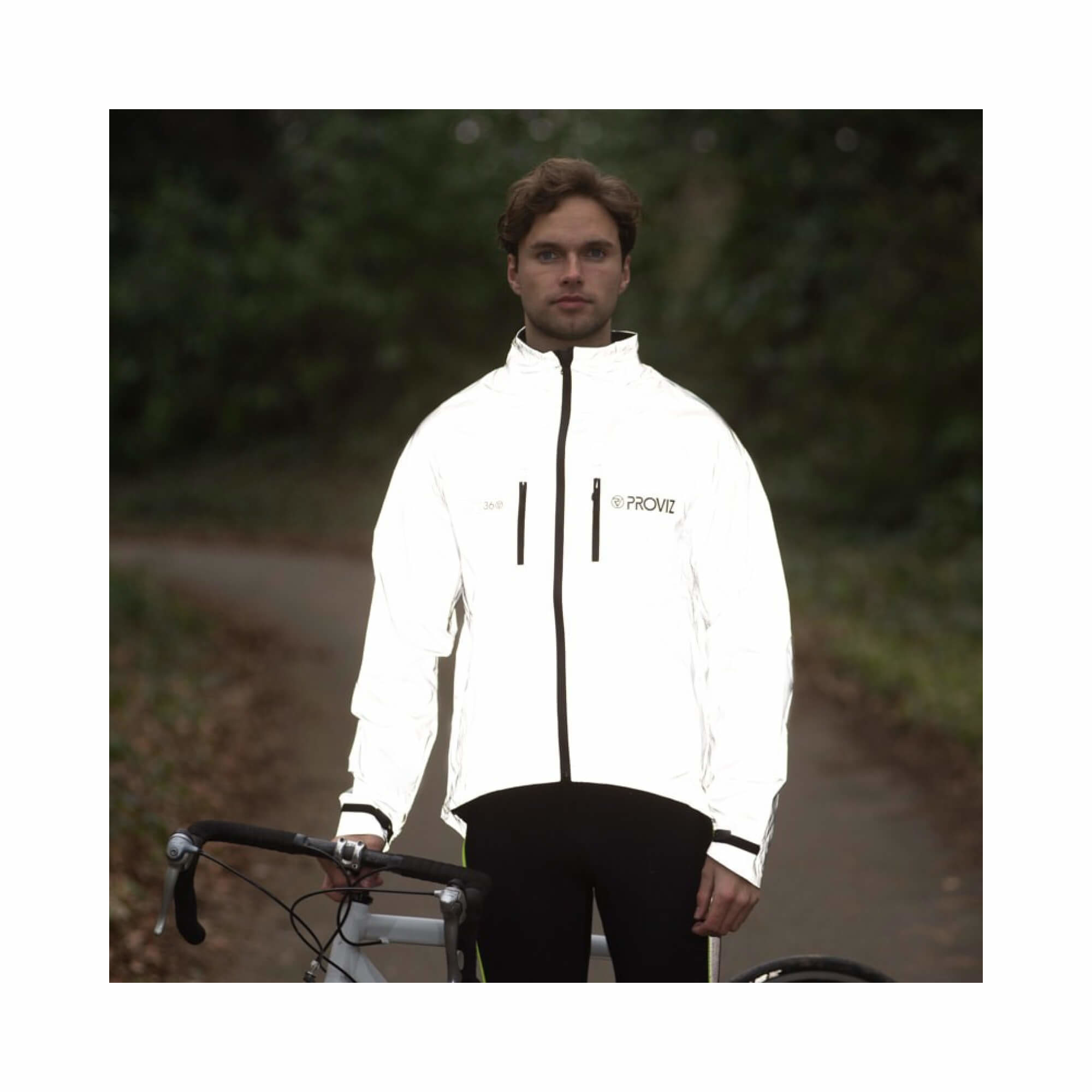 Jacket Cycling 360Reflect Proviz Storm Proof Mens Size X-Small-3