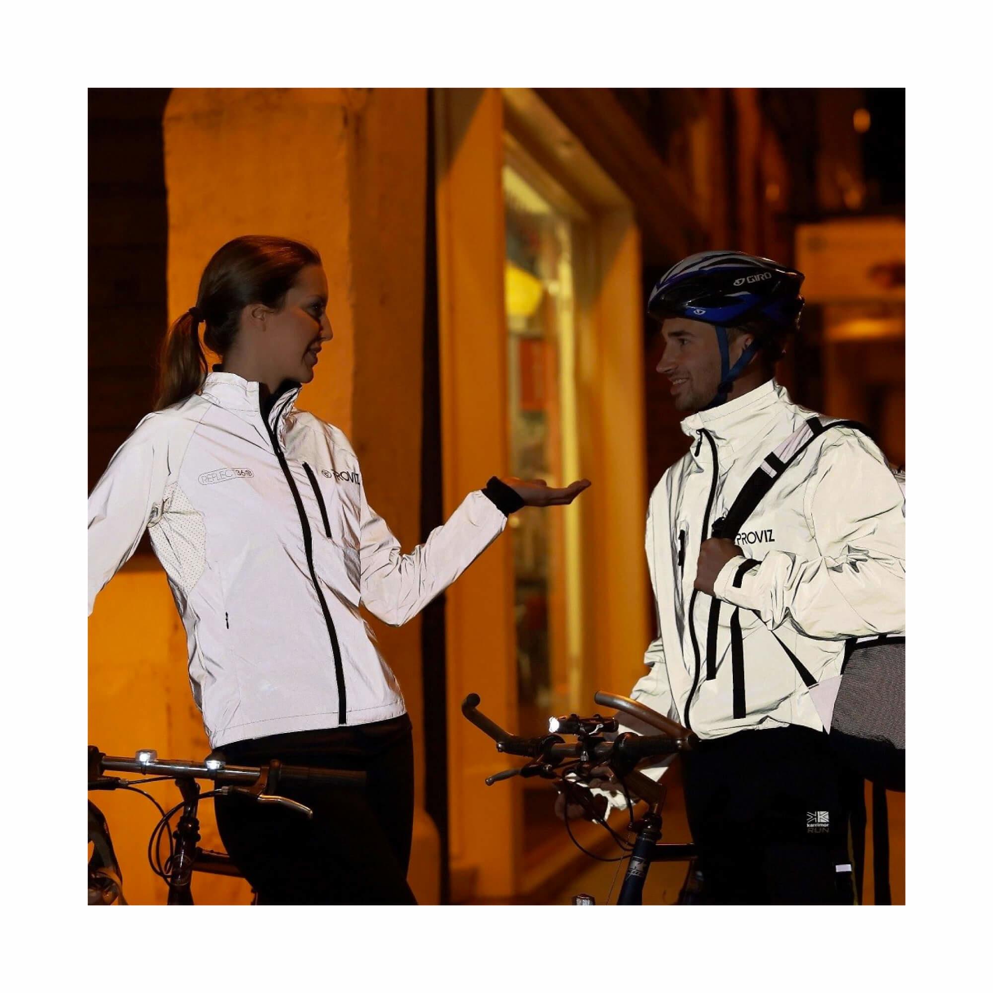 Jacket Cycling 360Reflect Proviz Storm Proof Mens Size X-Small-5