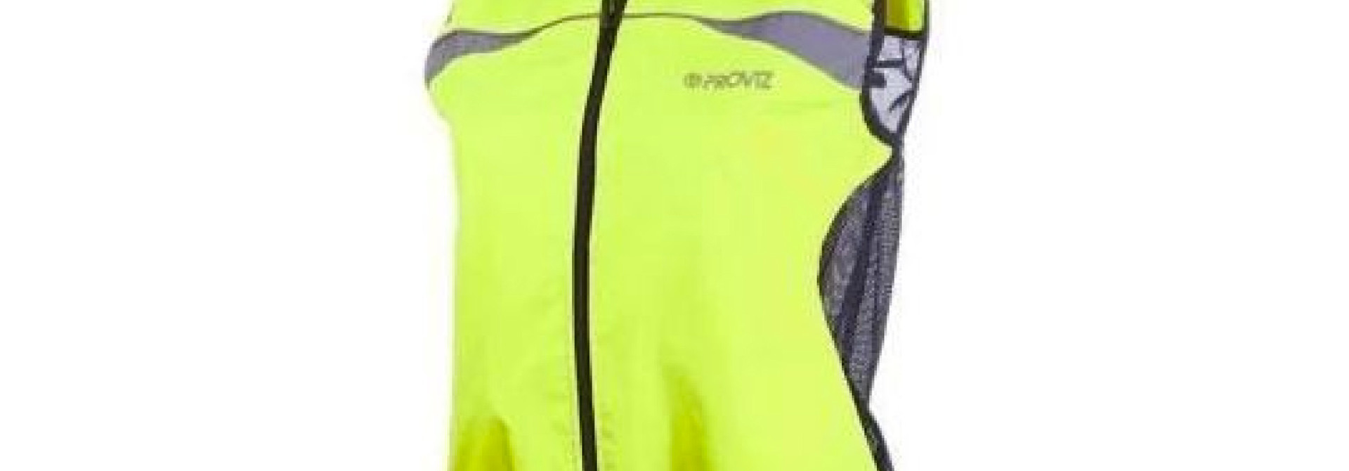 Gilet- Proviz High Visibility Yellow Wind Vest Womens Fit Size 12 Pv251