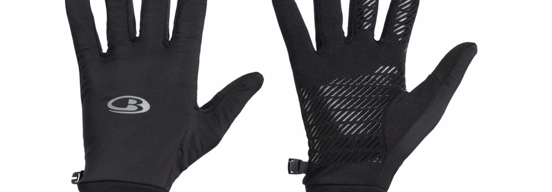 Adult Tech Trainer Hybrid Gloves Black
