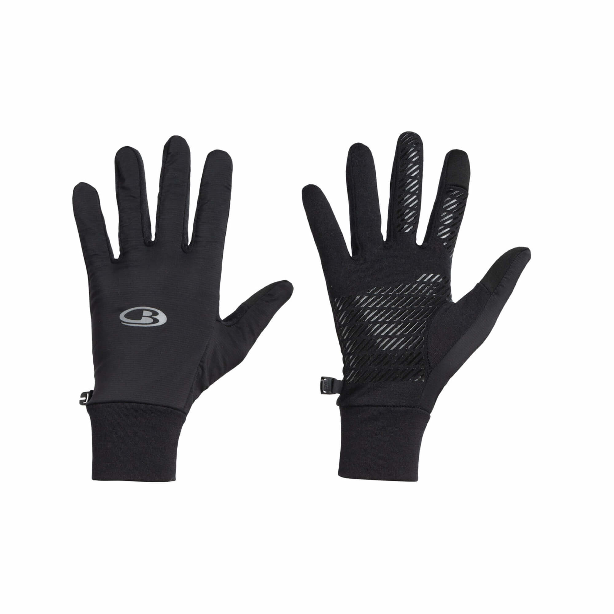 Adult Tech Trainer Hybrid Gloves Black-1