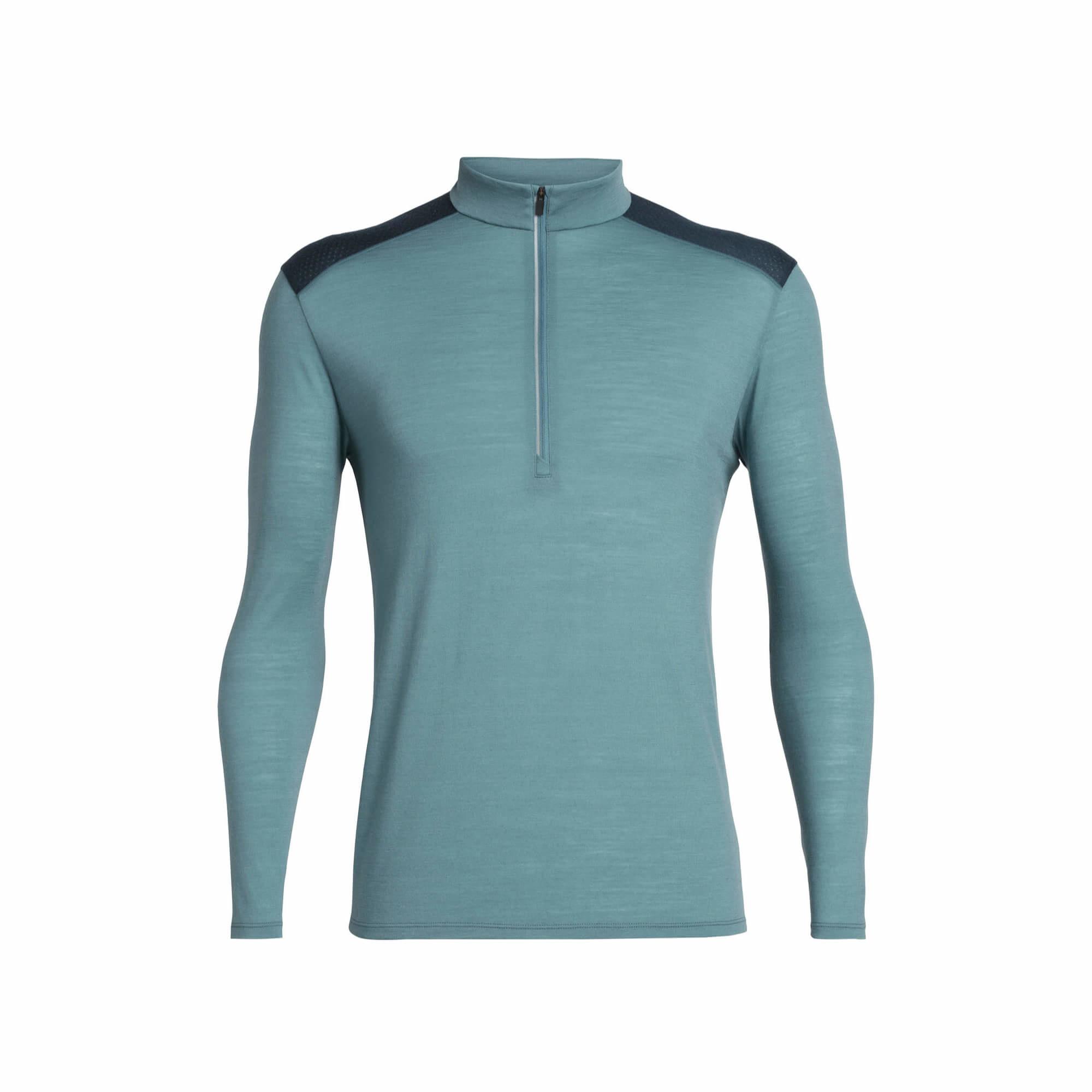 Men's Cool-Lite Merino Amplify Long Sleeve Half Zip Top-1