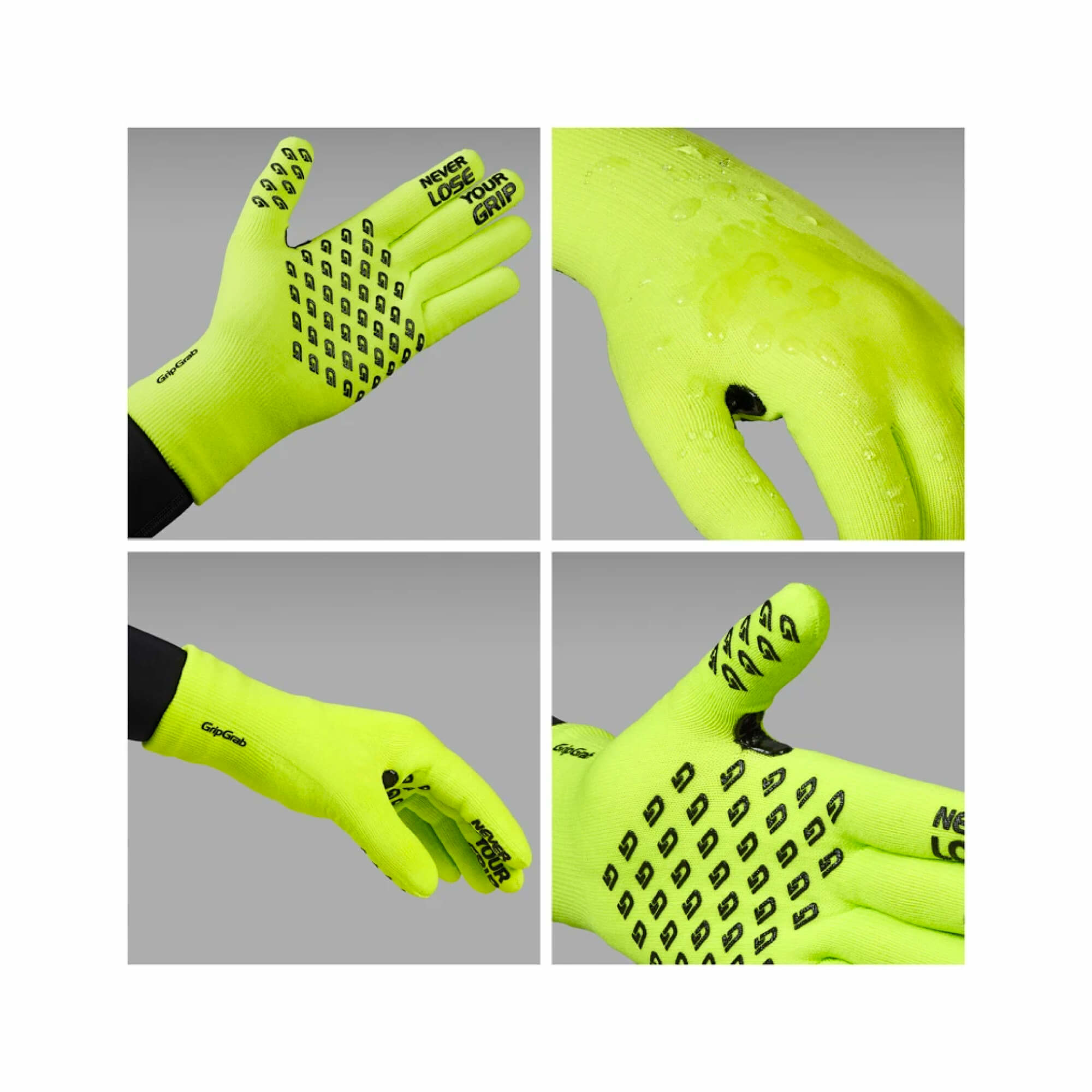 Waterproof Knitted Thermal Gloves-5