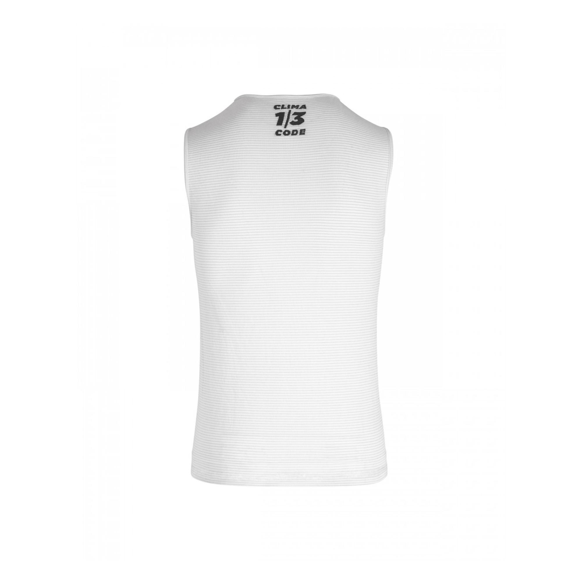 Skinfoil No Sleeve Summer Base Layer Men Holy White-4