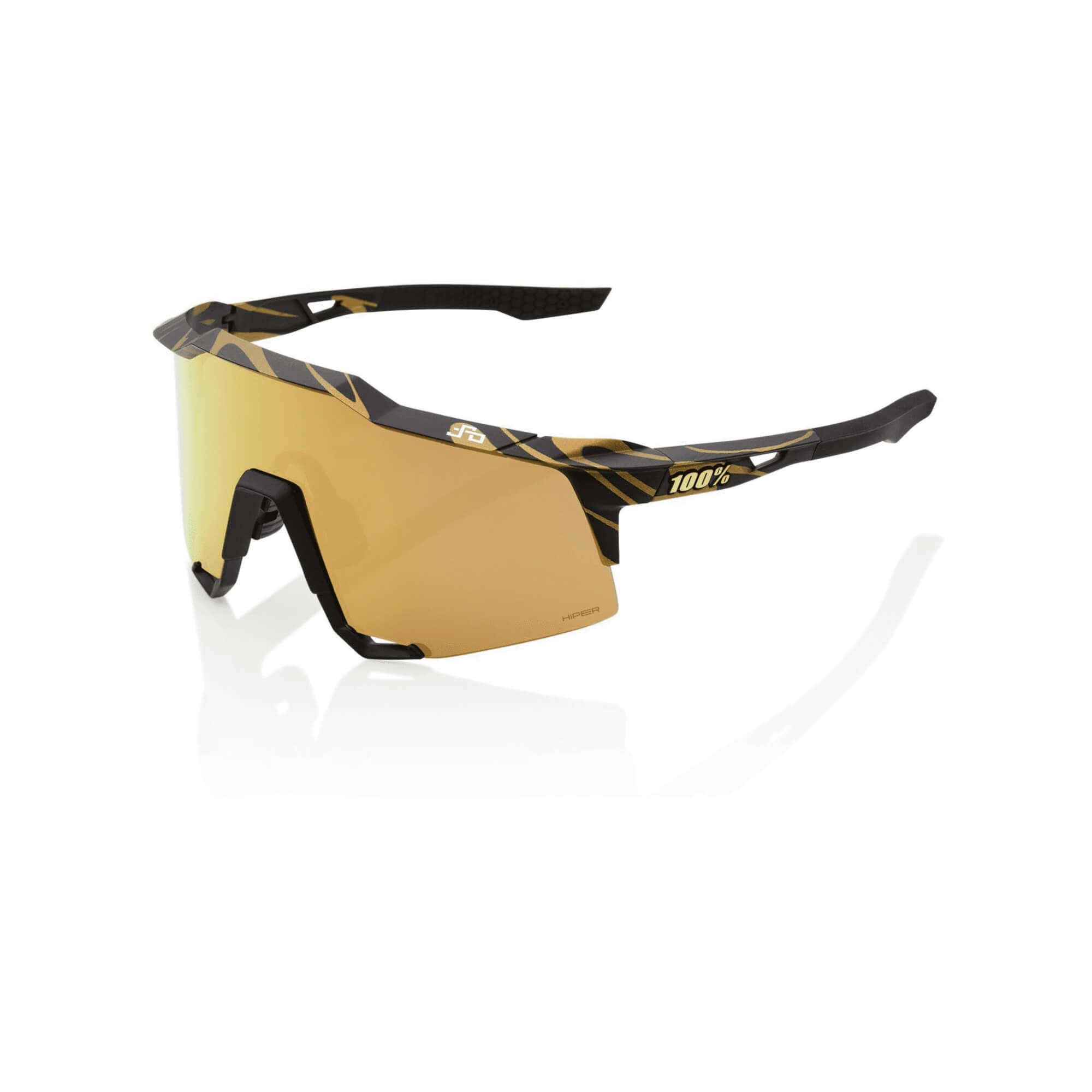 Speedcraft Peter Sagan LE Metallic Gold Flake Hiper Gold Mirror Lens-1