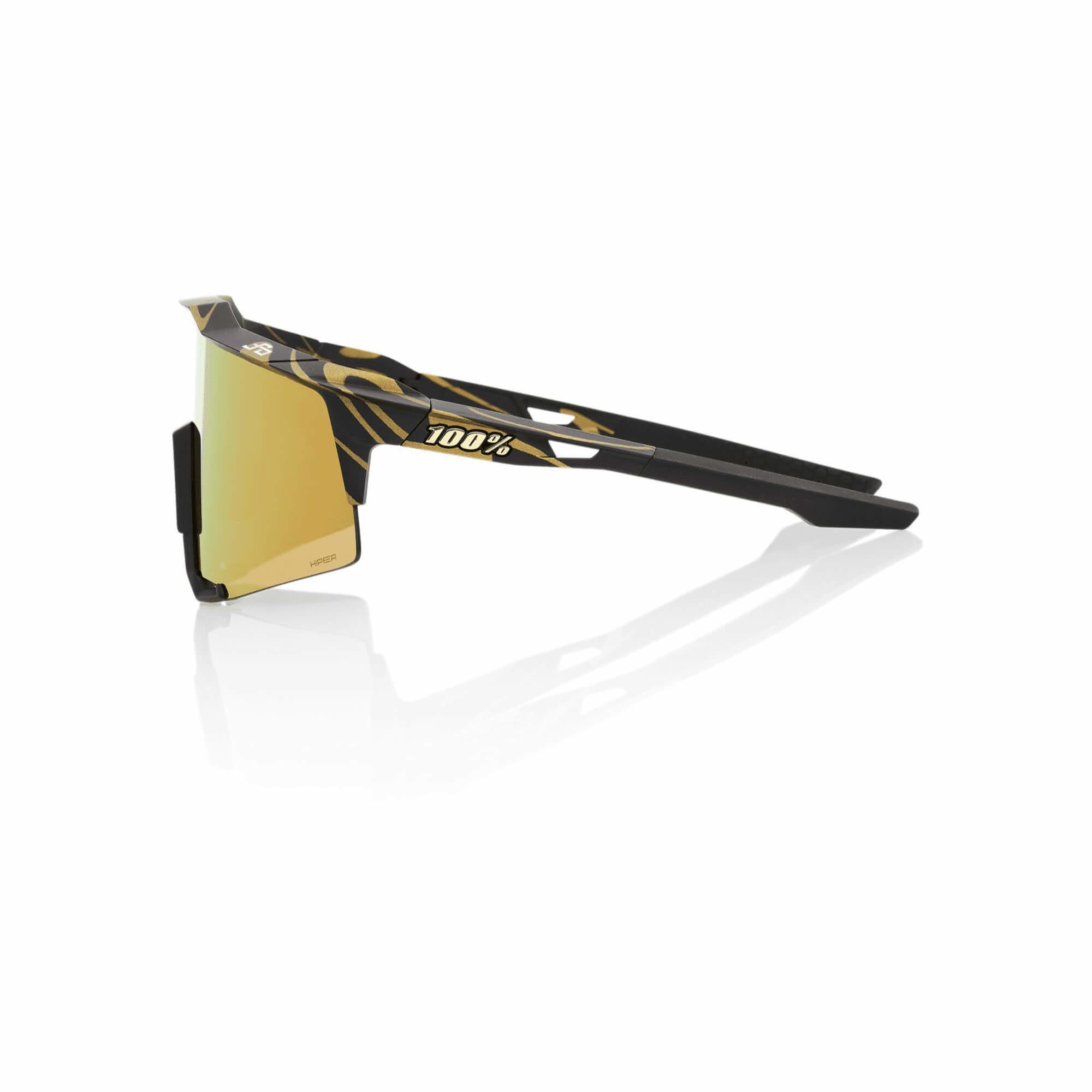 Speedcraft Peter Sagan LE Metallic Gold Flake Hiper Gold Mirror Lens-2