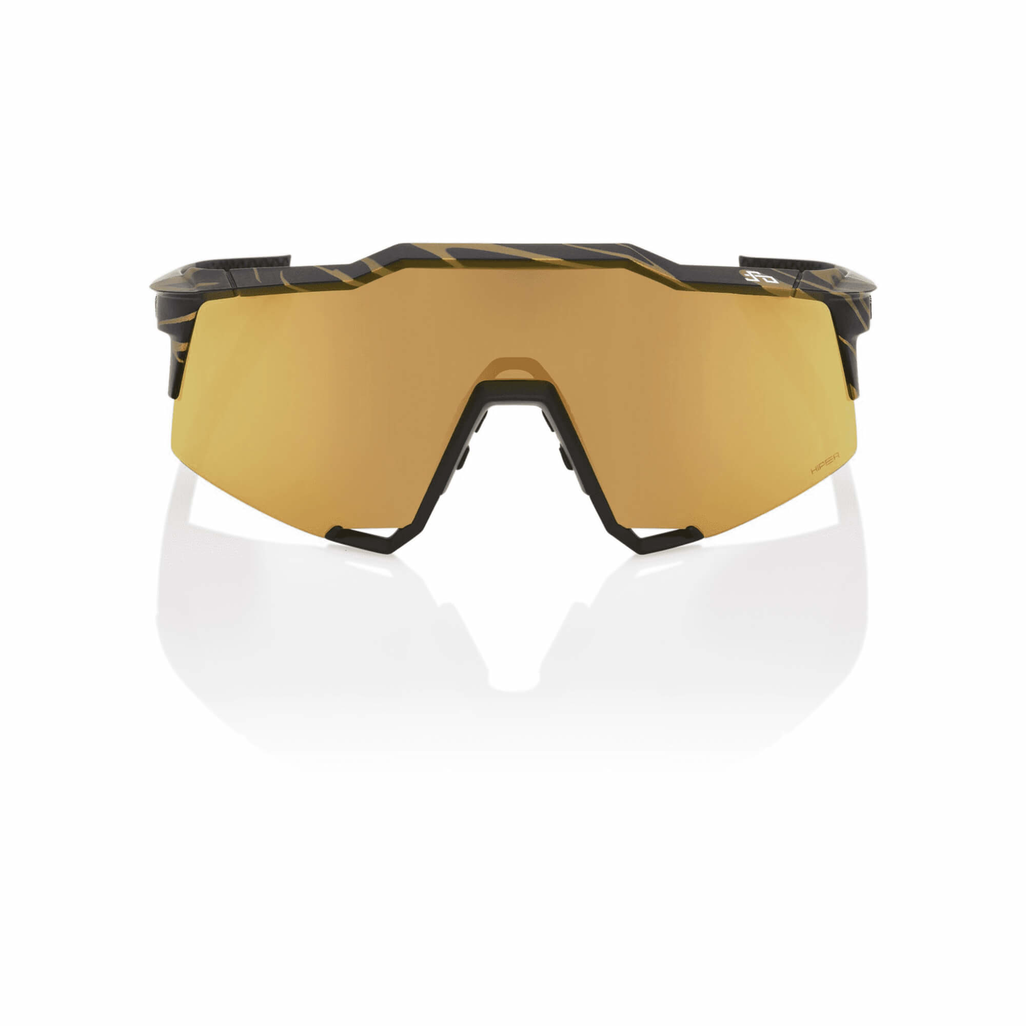 Speedcraft Peter Sagan LE Metallic Gold Flake Hiper Gold Mirror Lens-3