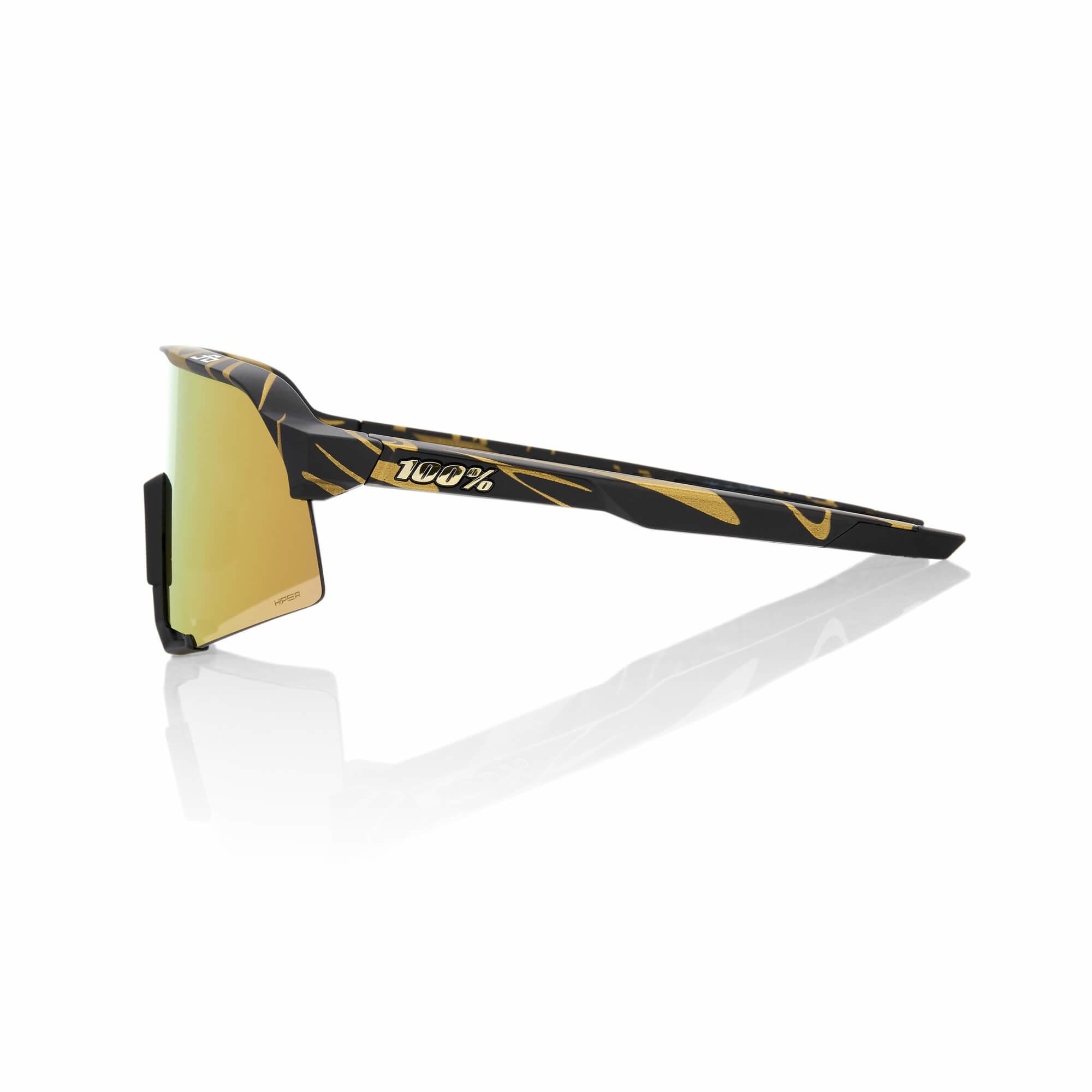 S3 Peter Sagan LE Metallic Gold Flake Hiper Gold Mirror Lens-3