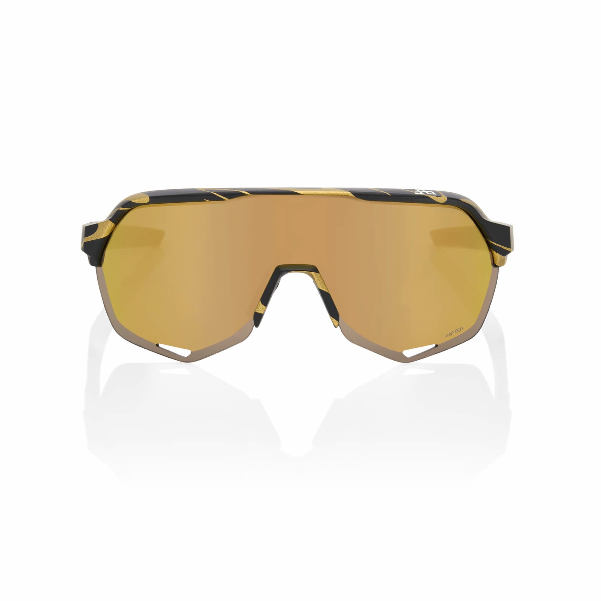 S2 Peter Sagan LE Metallic Gold Flake Hiper Gold Mirror Lens-2