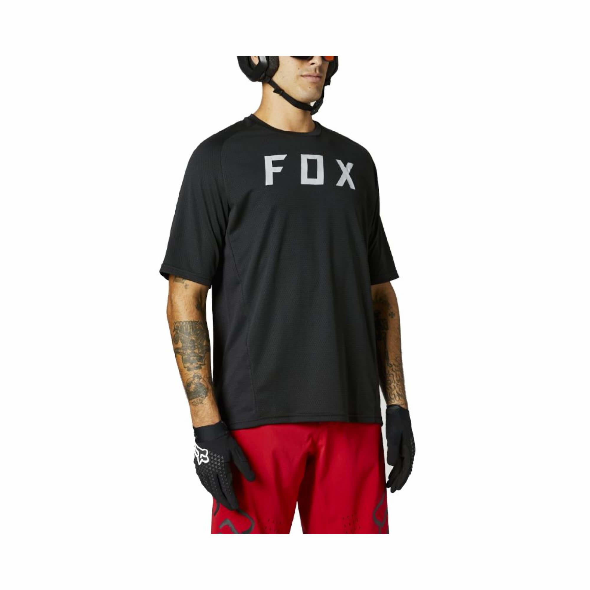 Defend Short Sleeve Jersey Fox 2021-2