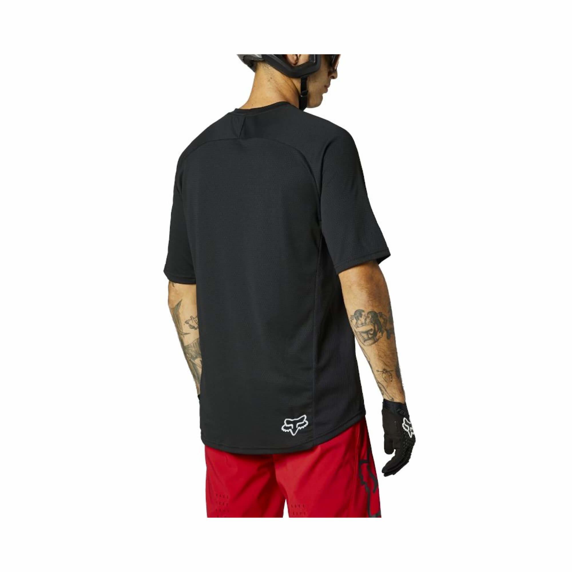 Defend Short Sleeve Jersey Fox 2021-4