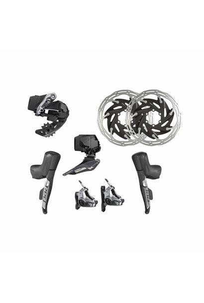 RED eTap AXS Upgrade Kit 2x Hydraulic 6 Bolt Disc Brake  Flat Mount
