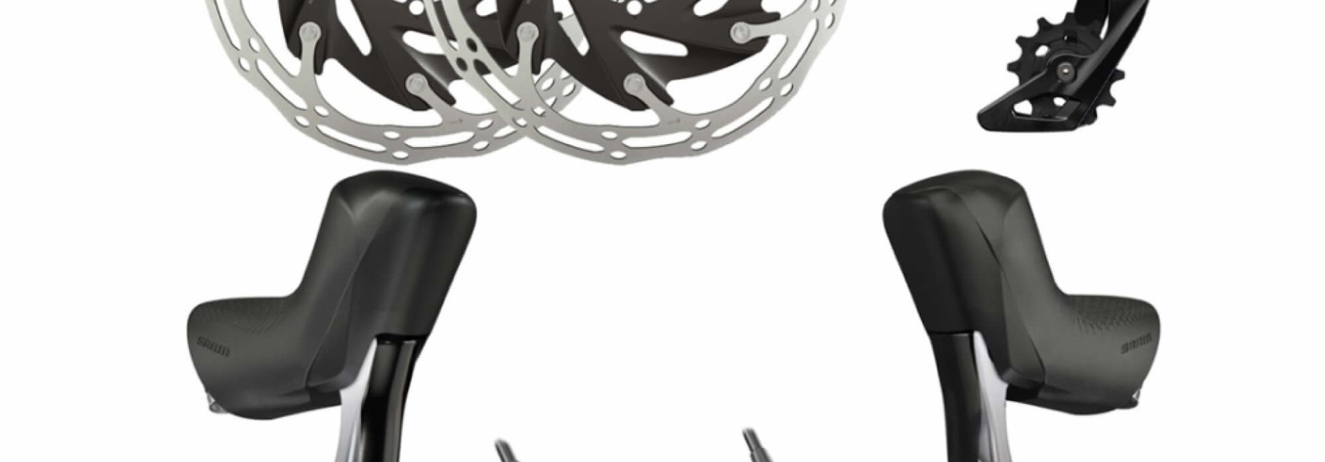 Force eTap AXS Upgrade Kit 1x Hydraulic 6 Bolt Disc Brake Flat Mount