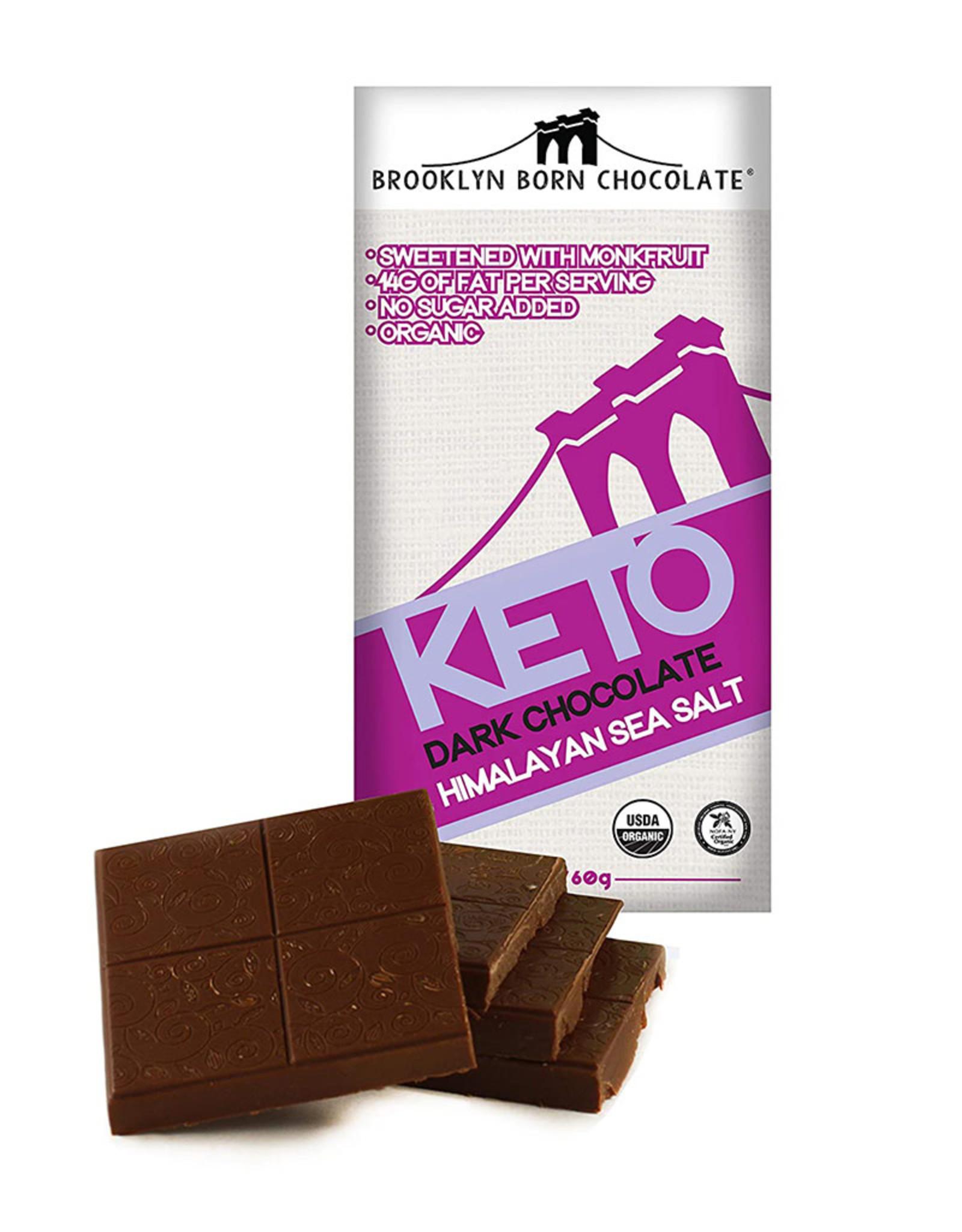Brooklyn Born Chocolate Brooklyn - Keto Bar, Himalayan Sea Salt (60g)