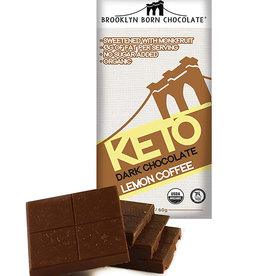 Brooklyn Born Chocolate Brooklyn - Keto Bar, Lemon Coffee (60g)