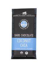 Brooklyn Born Chocolate Brooklyn - Paleo Chocolate Bar, Coconut Chia (60g)