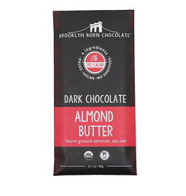Brooklyn Born Chocolate Brooklyn - Paleo Chocolate Bar, Almond Butter (60g)
