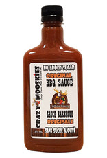 Crazy Mooskies Crazy Mooskies - No Sugar Added BBQ Sauce, Original (375ml)